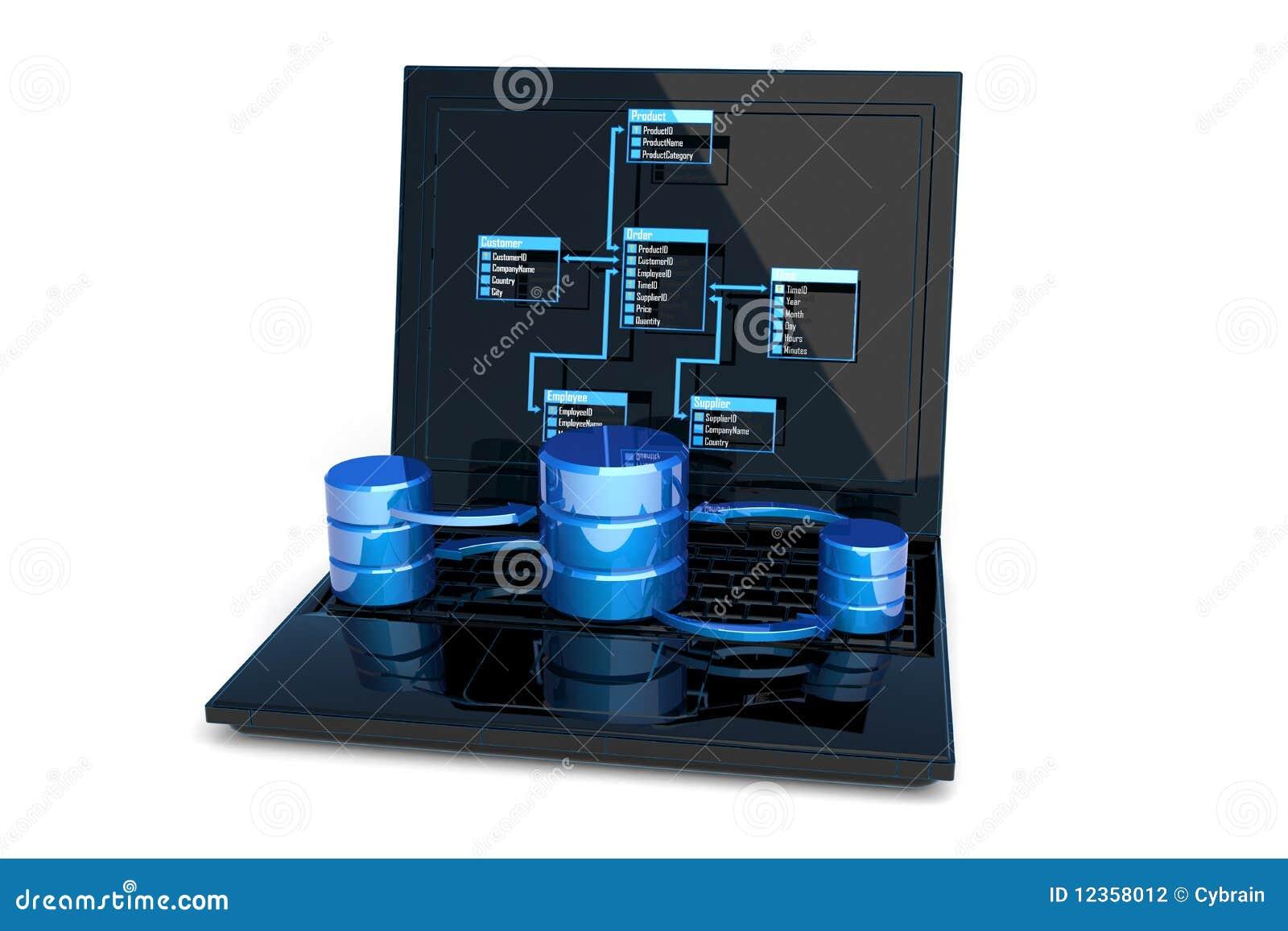 Het ontwerp van het gegevensbestand