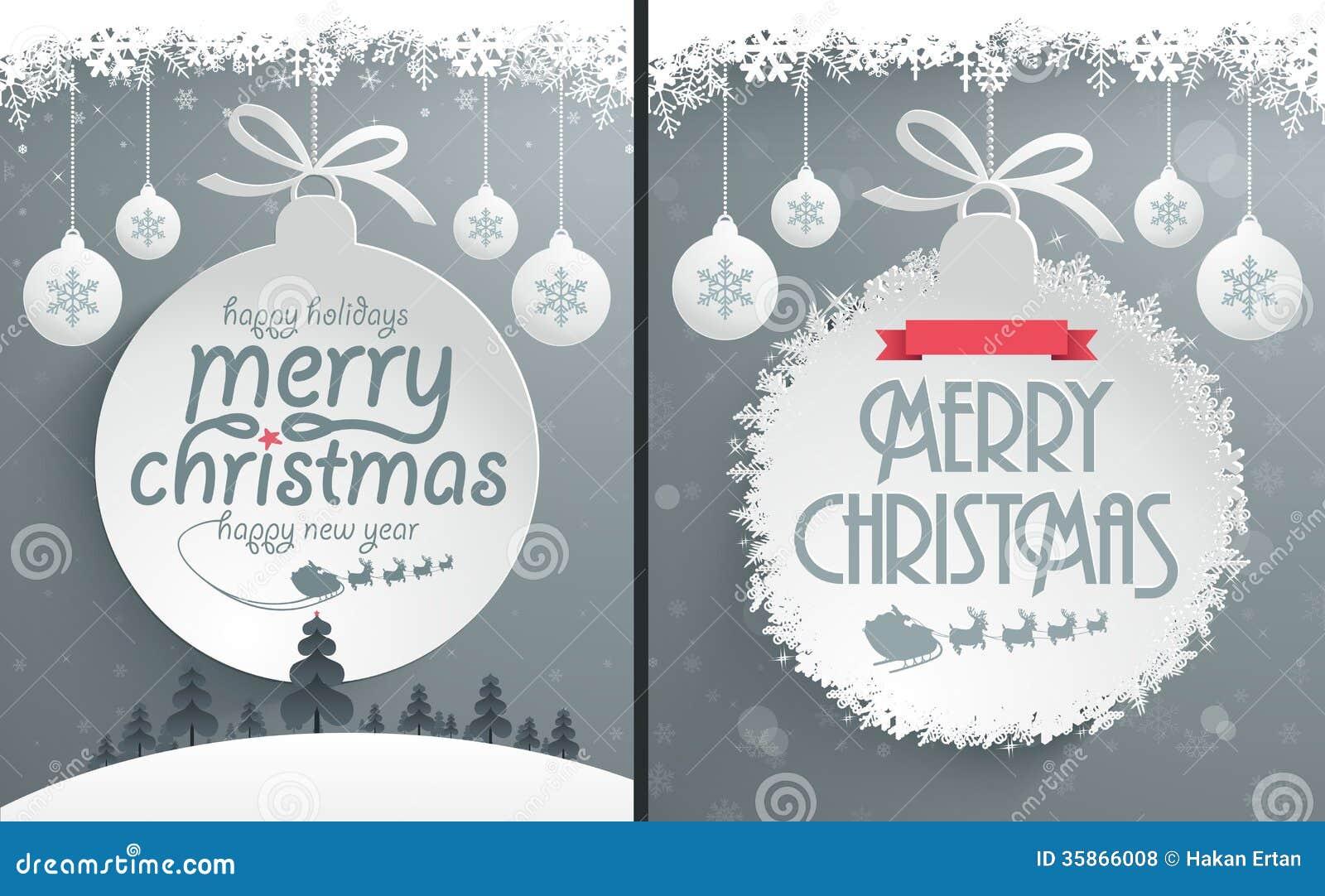Het Ontwerp van het Kerstmisbericht