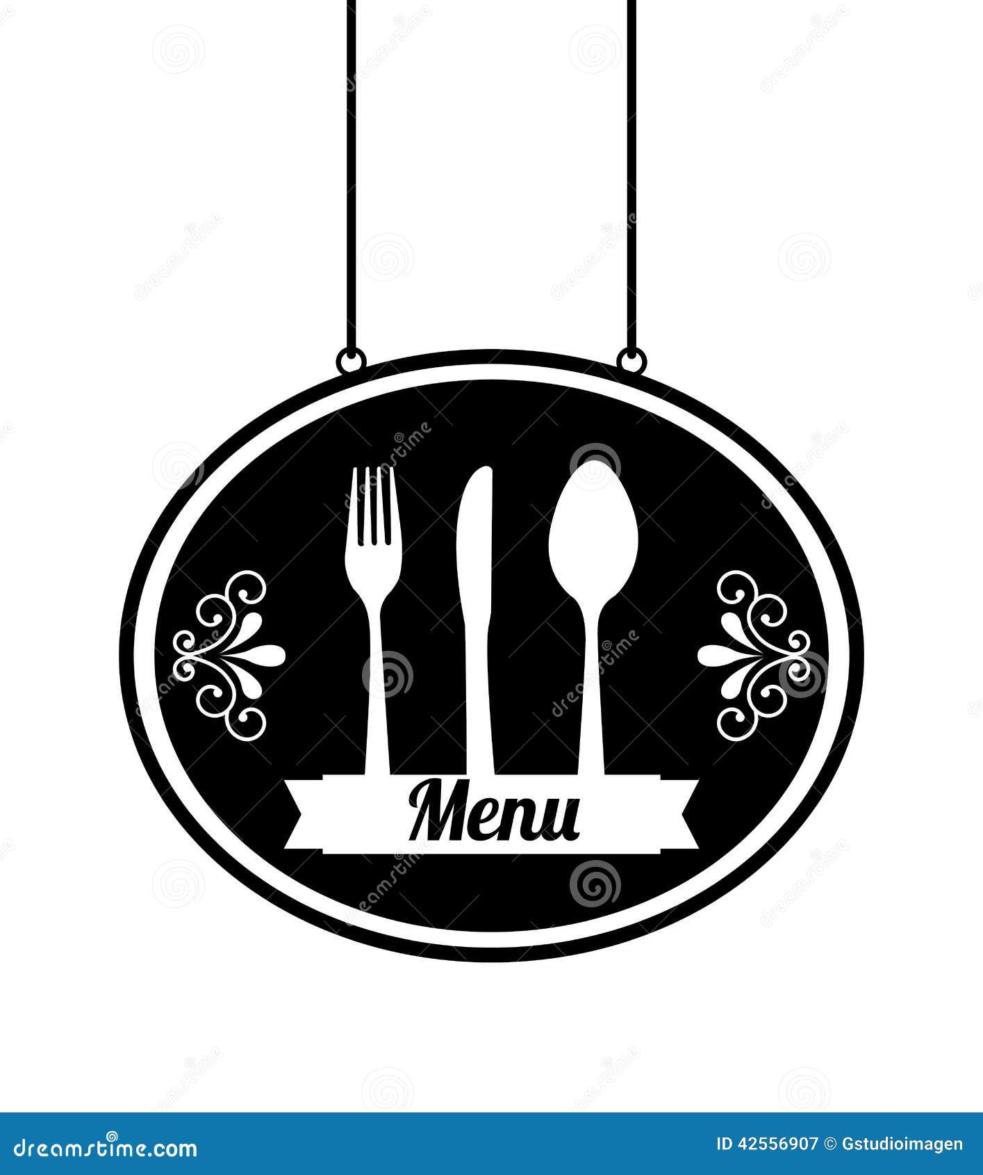 Het ontwerp van het menu