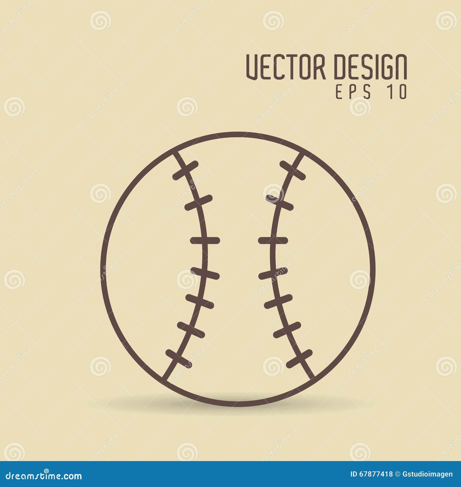Het ontwerp van het sportpictogram