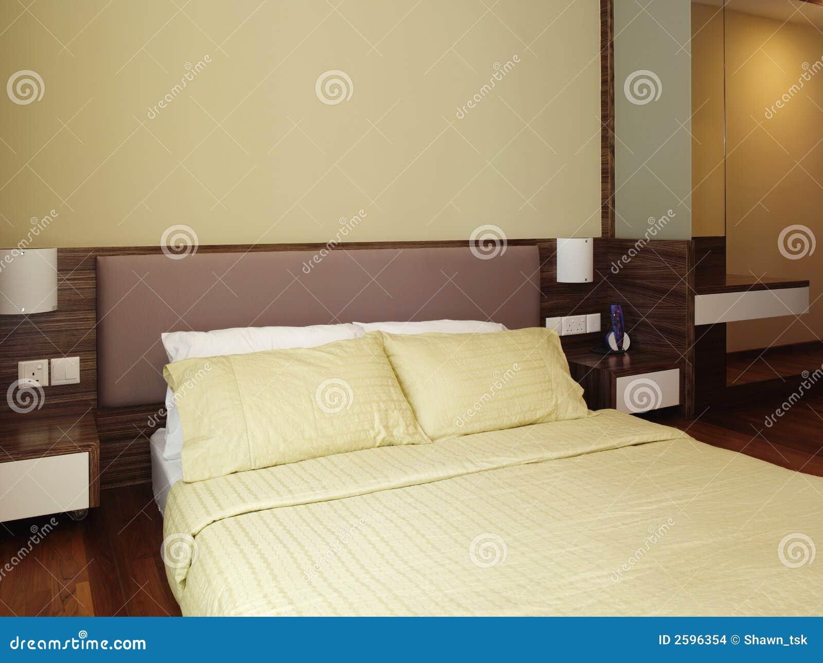 Het ontwerp van Interioir - slaapkamer