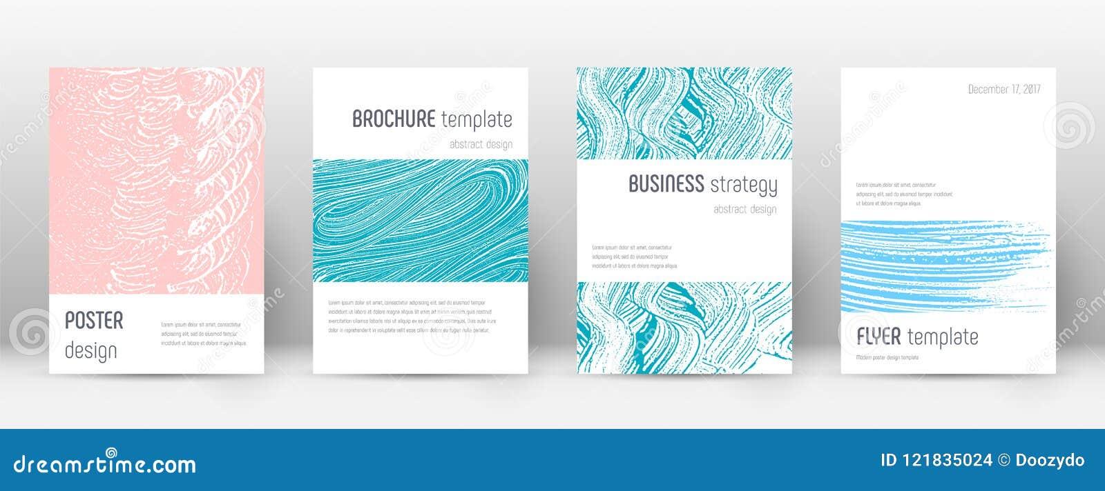 Het ontwerpmalplaatje van de dekkingspagina De lay-out van de Minimalisticbrochure Briljante in abstracte dekkingspagina