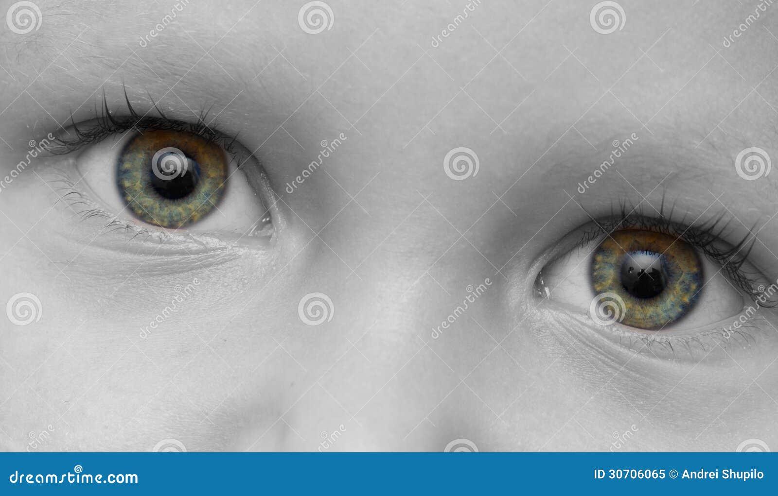 Het oog van het kind