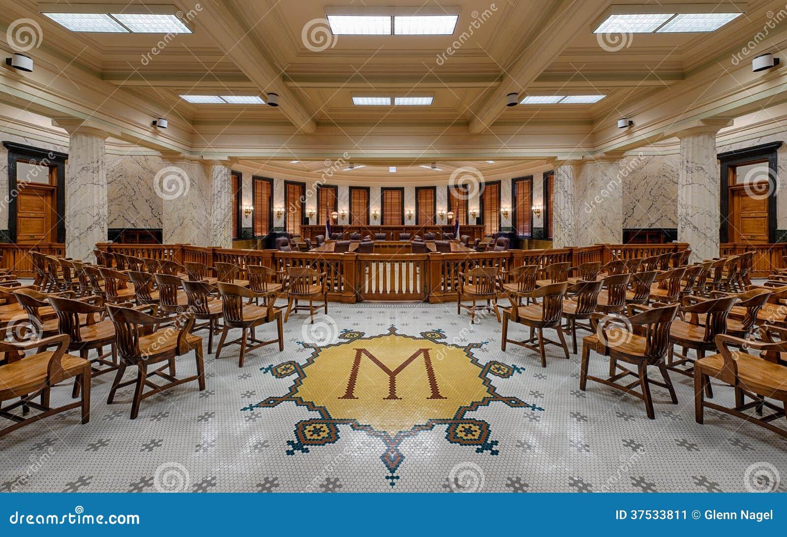 Het Opperste hofkamer van de Mississippi