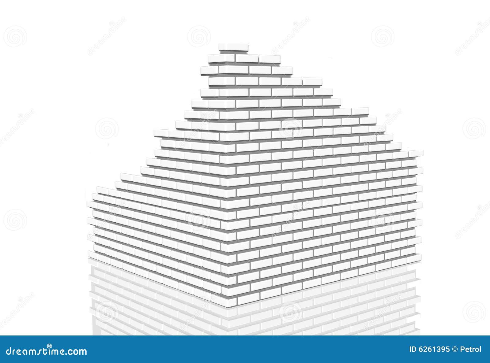 Het opsplitsen van de muur