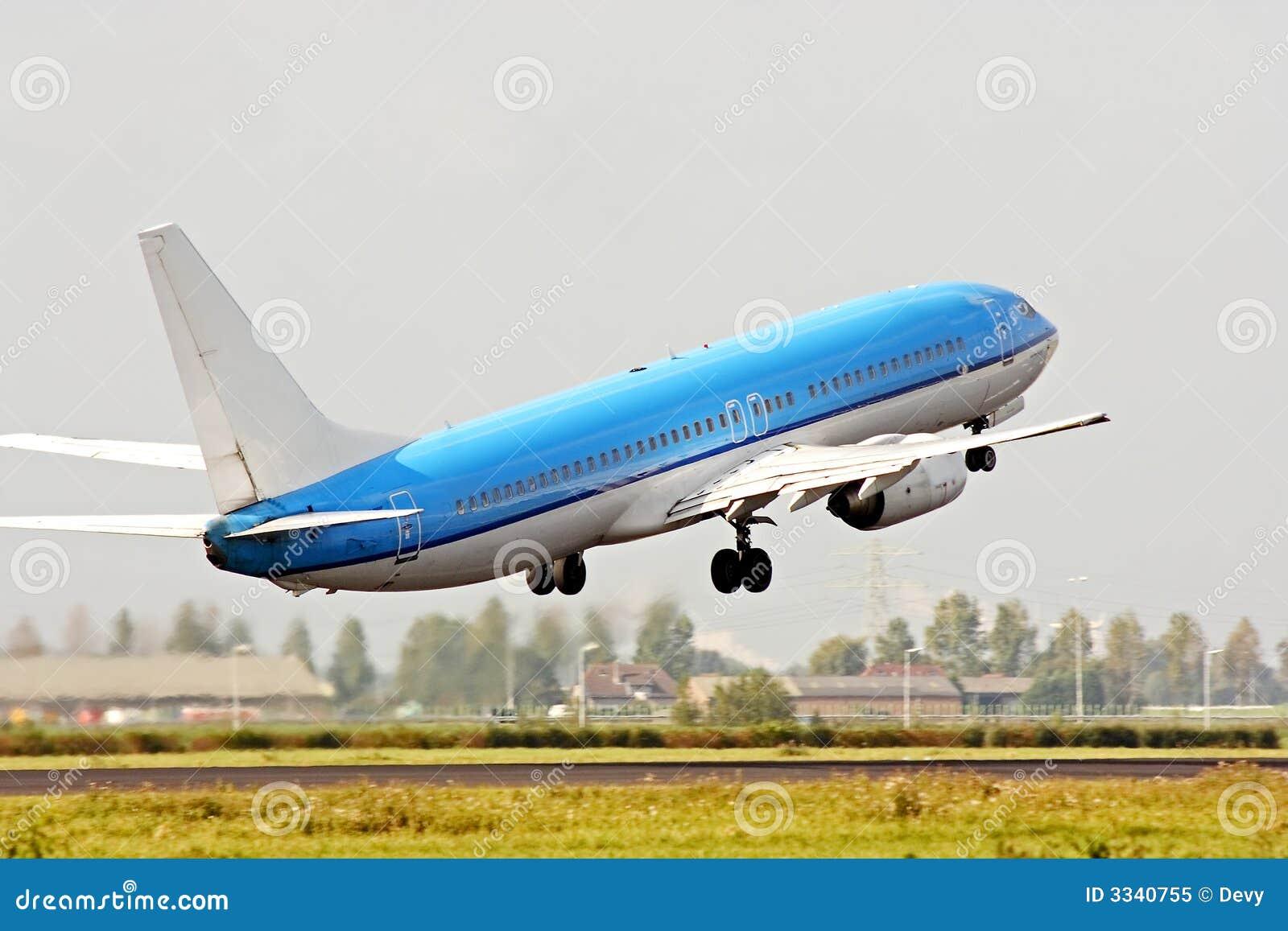 Het opstijgen van het vliegtuig stock afbeelding afbeelding 3340755 - Vliegtuig badkamer m ...