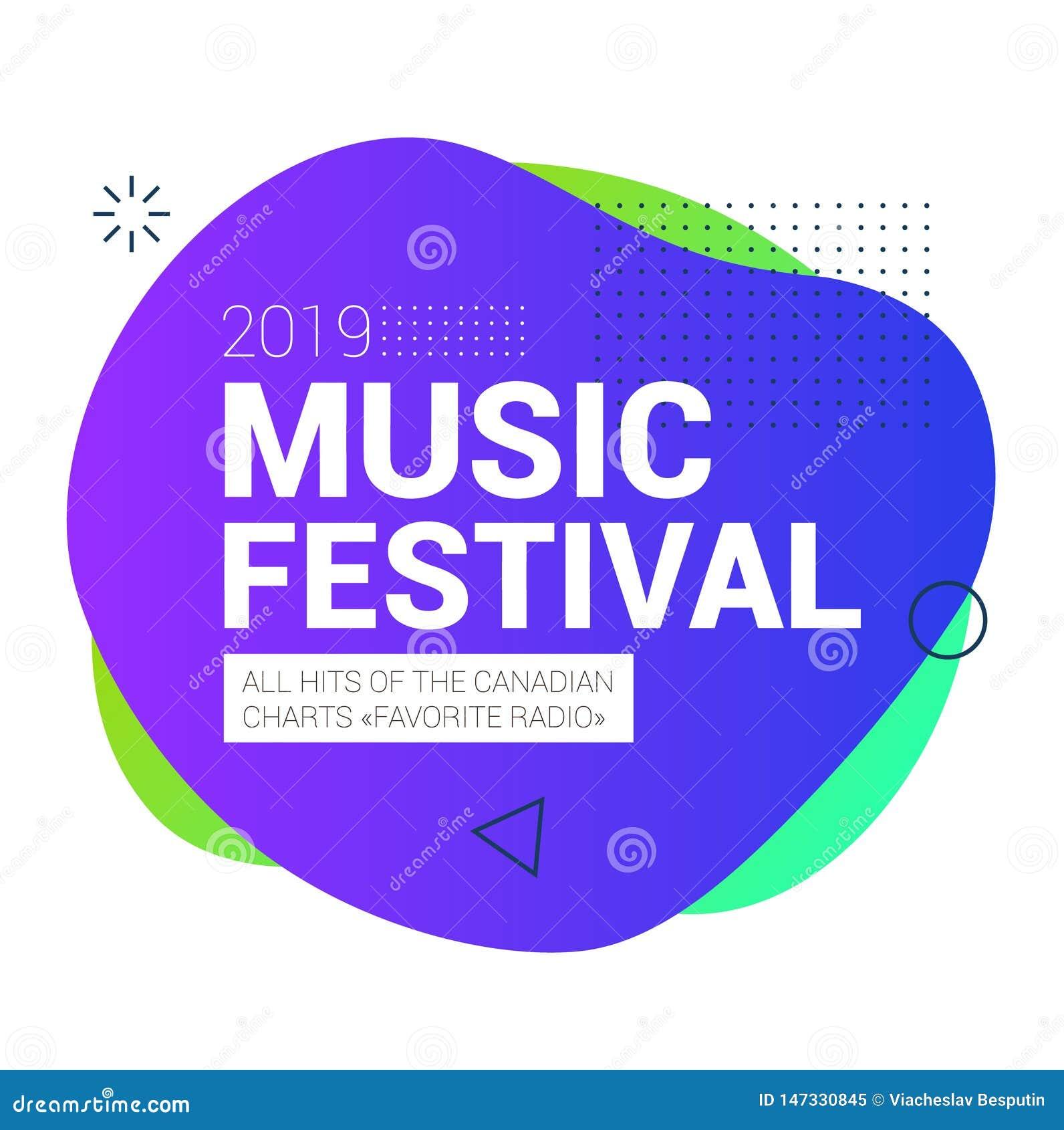Het organische festival van de ontwerpmuziek in Canada