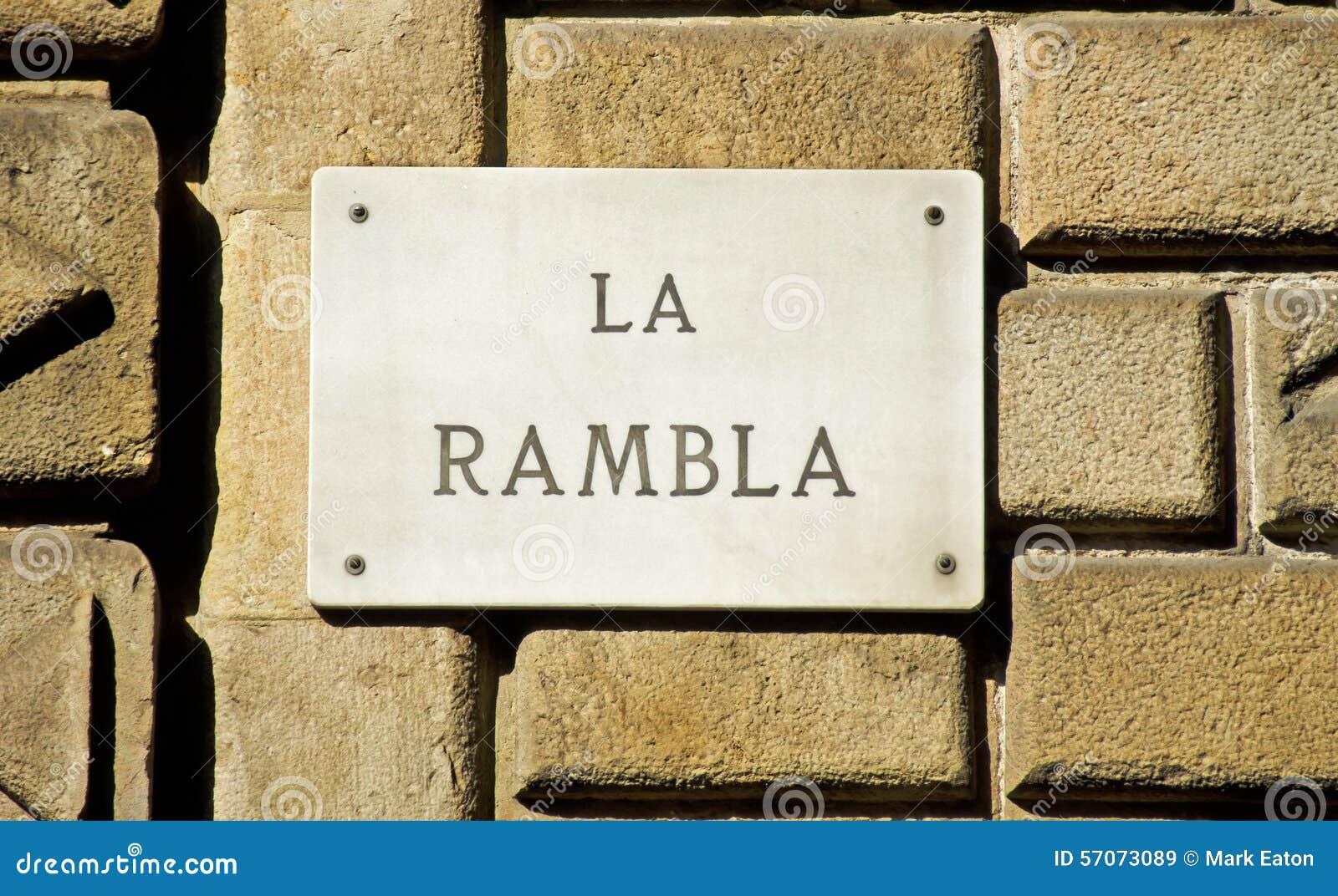Het Oriëntatiepunt van Barcelona: De Verkeersteken van La Rambla