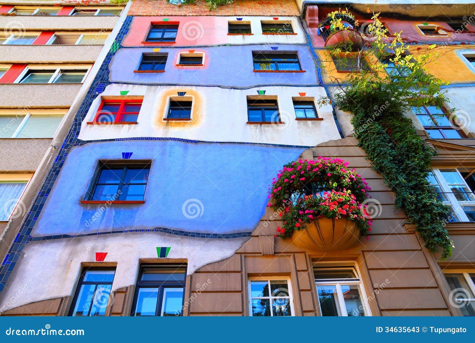 Het ori ntatiepunt van wenen redactionele stock foto beeld 34635643 - Expressionistische architectuur ...