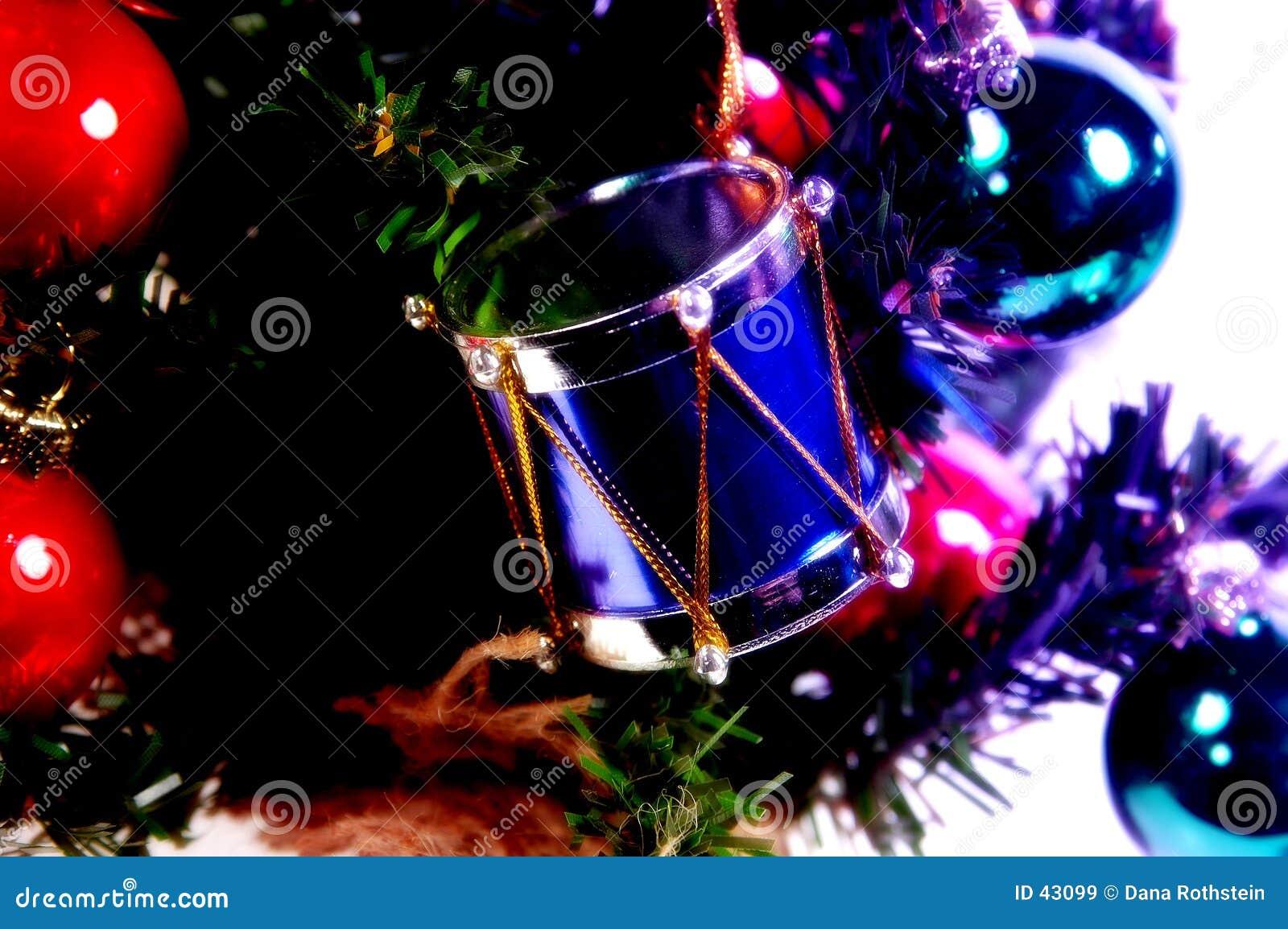 Download Het Ornament Van De Trommel Stock Afbeelding - Afbeelding bestaande uit december, verfraai: 43099