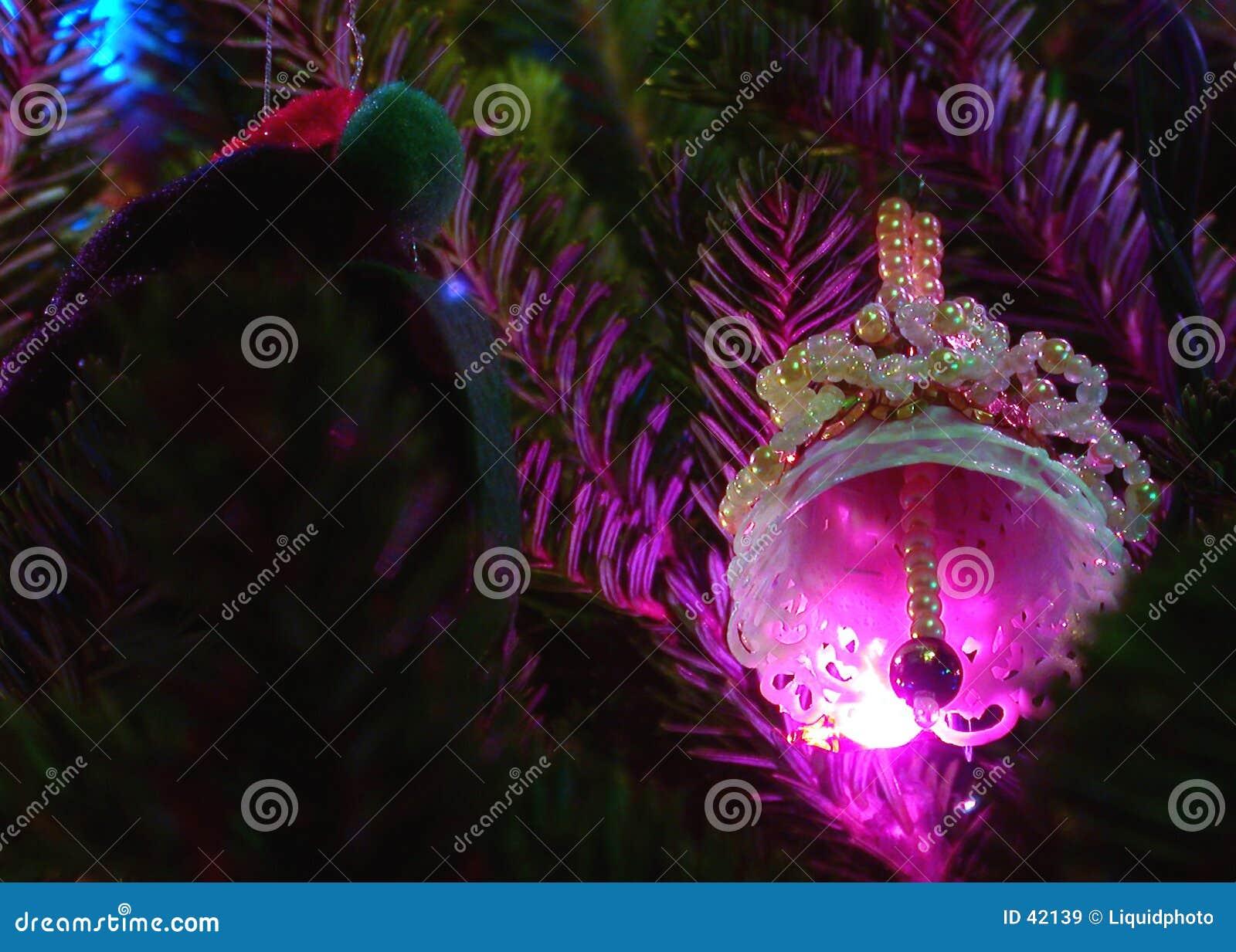 Het Ornament van de vakantie en de Klok van Lichten