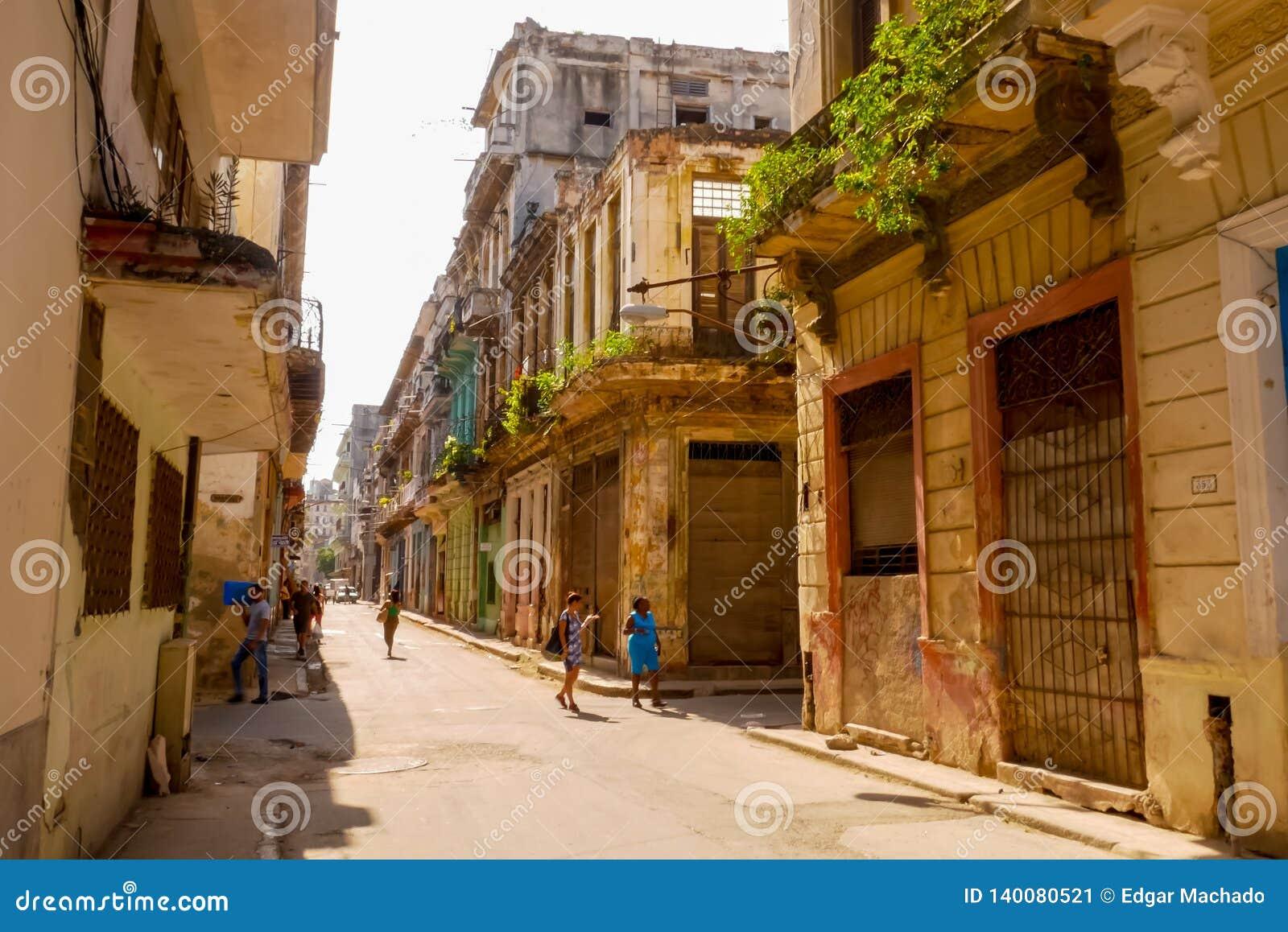 Het oude Havana City-leven