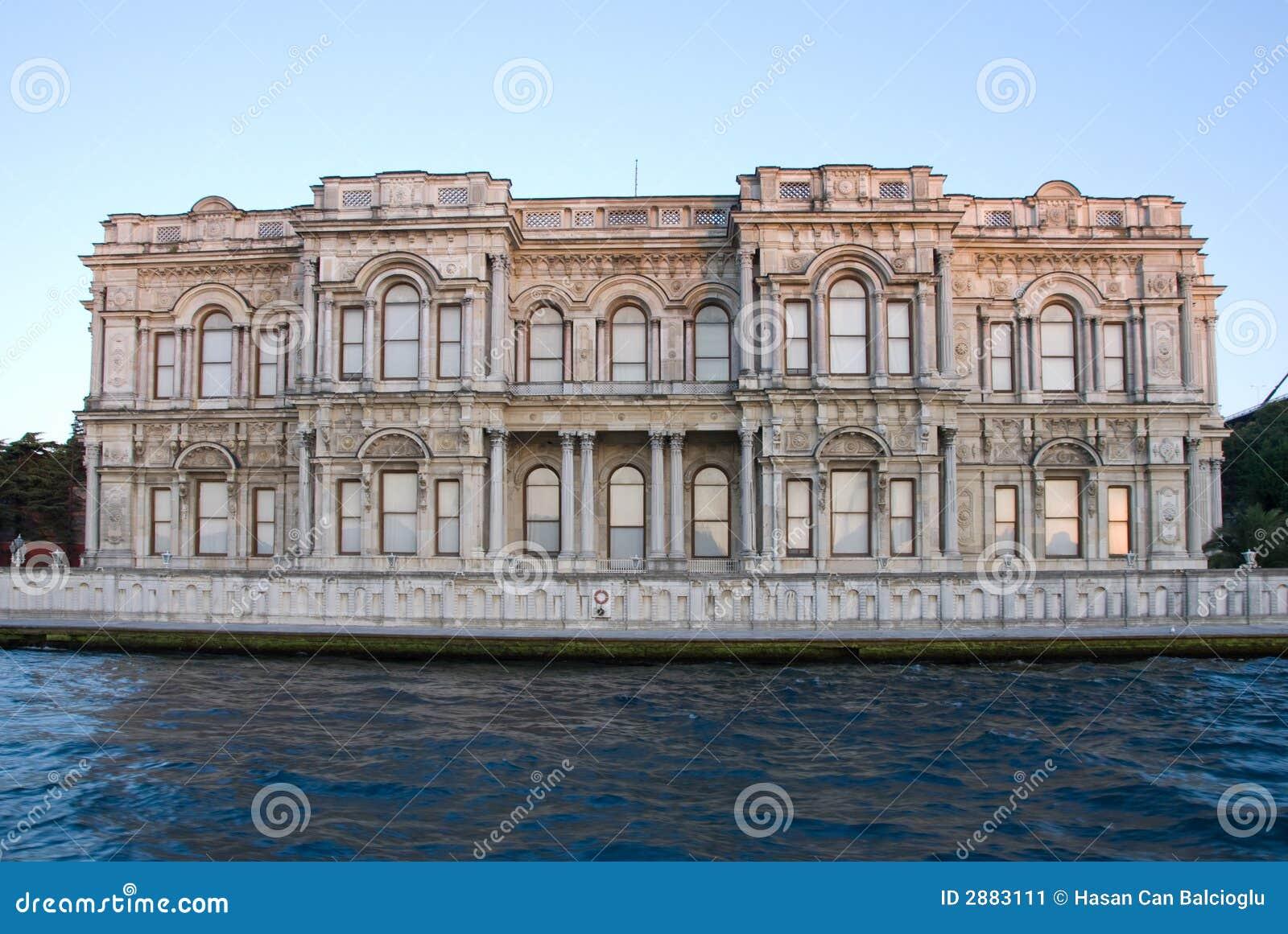 Het oude Paleis van de Ottomane in Istanboel