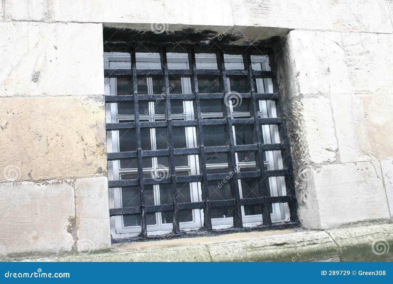 Het oude Venster van de Gevangenis
