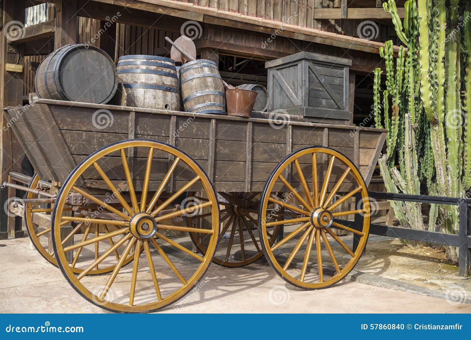 Het oude westen, Oude sleepstad, Cody, Wyoming