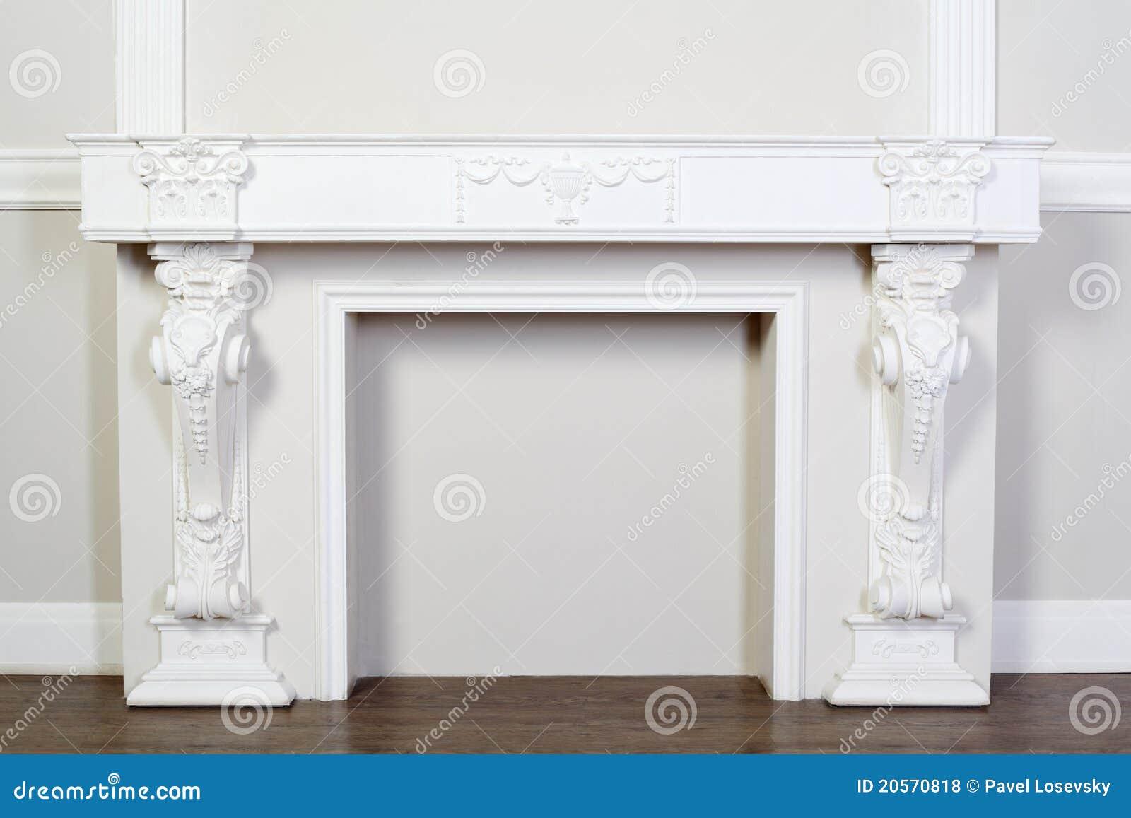 Het overladen decoratieve pleister vormen in studio stock foto