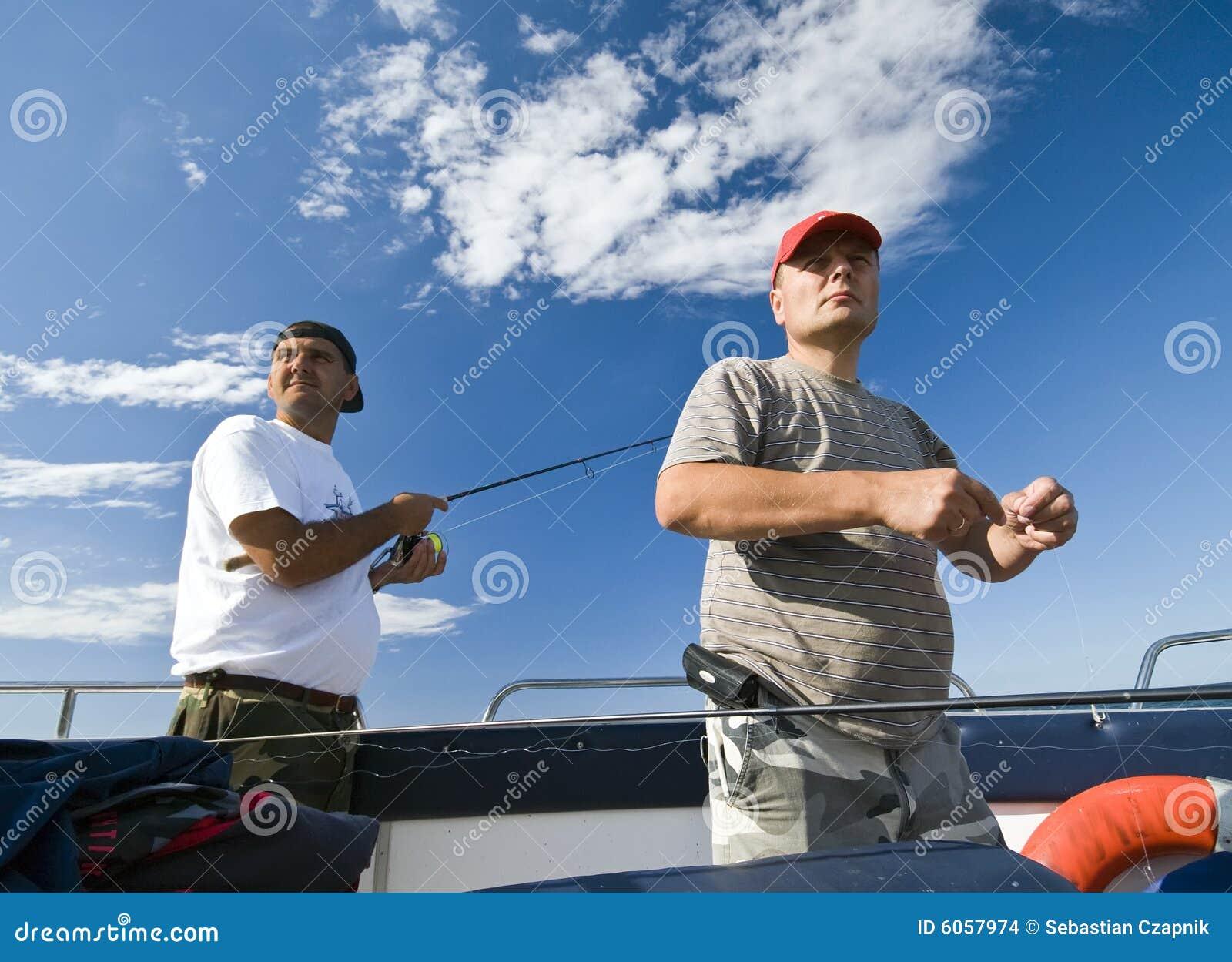 Het overzeese vissers vooruitzien