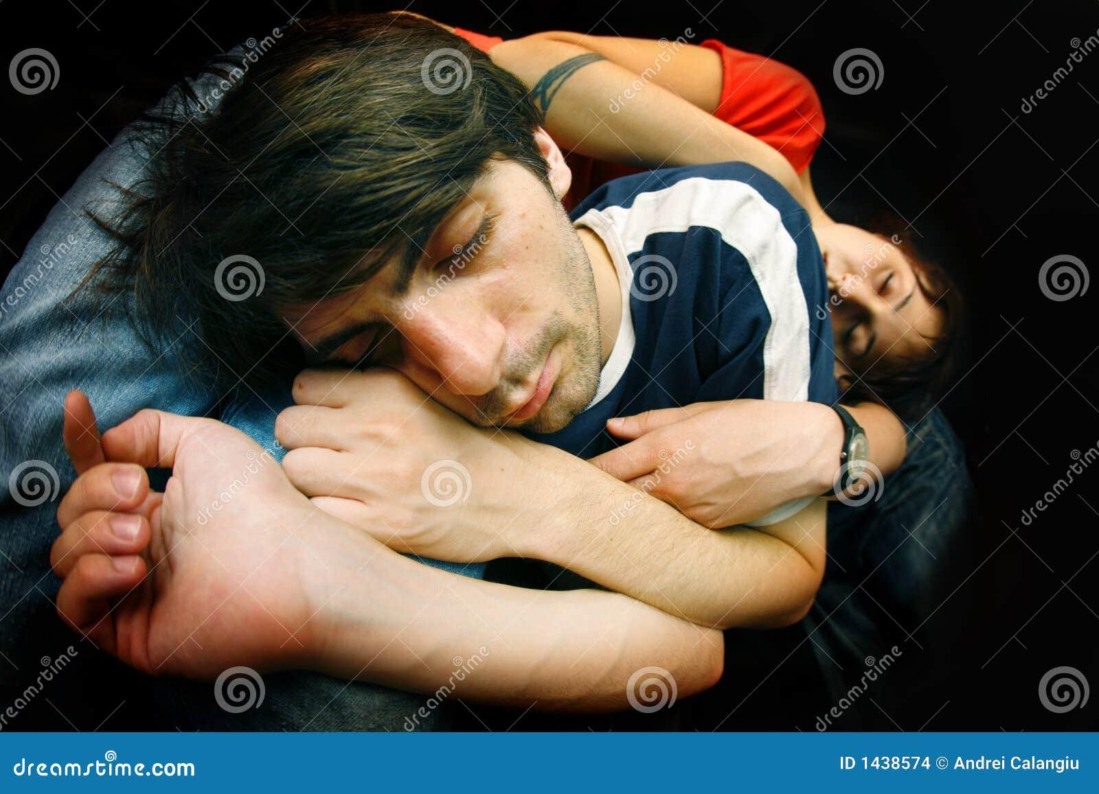 Het paar van de slaap