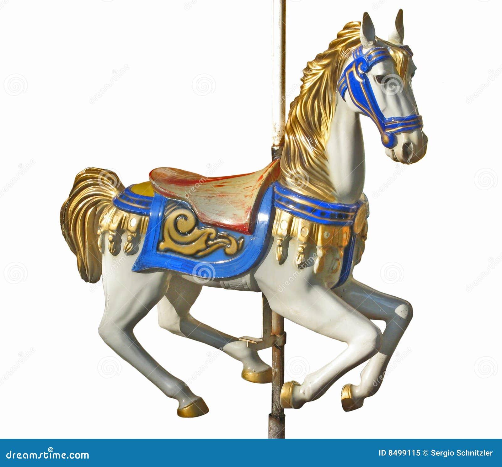 Het paard van de carrousel