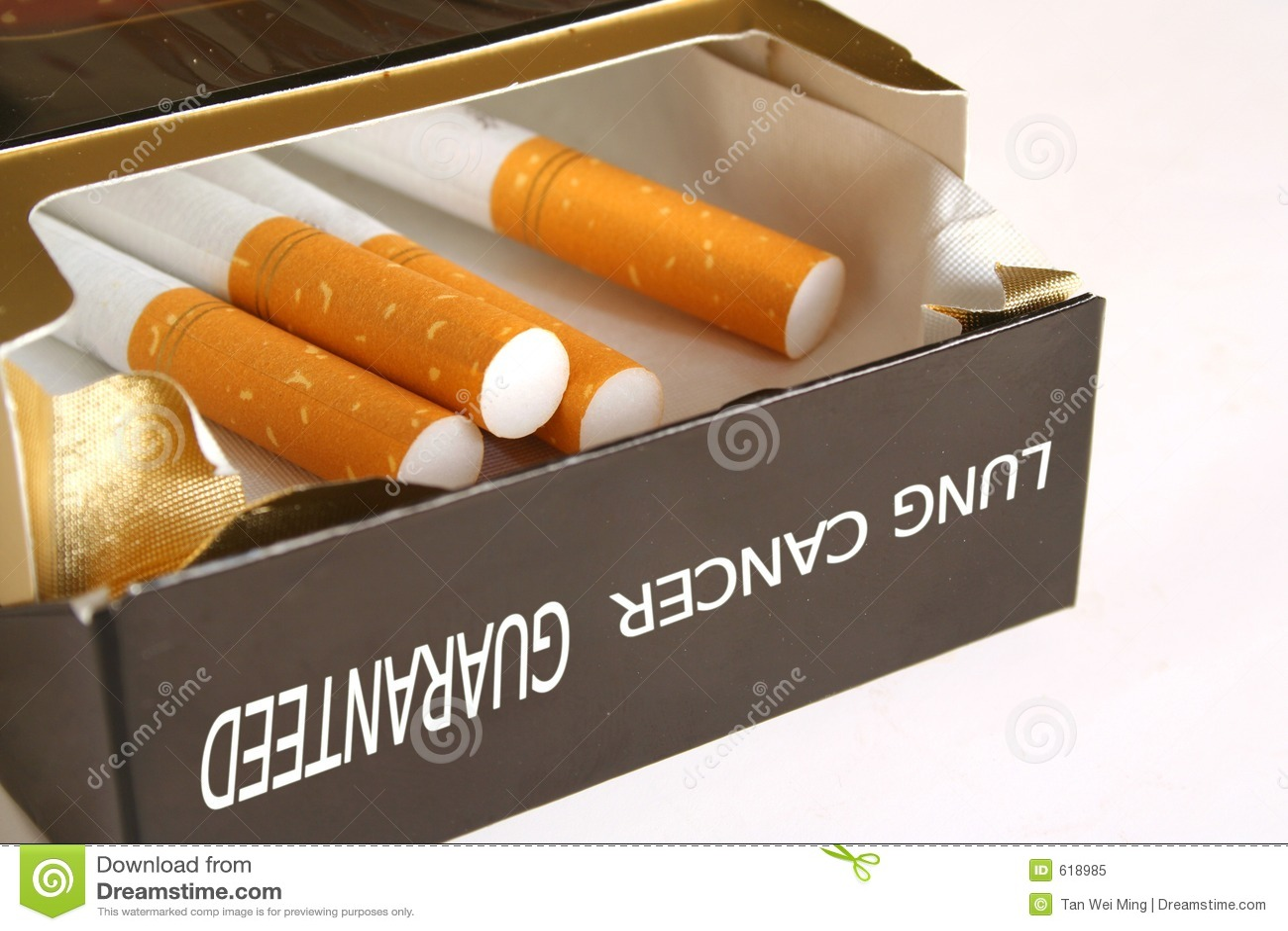 Het Pak van de sigaret