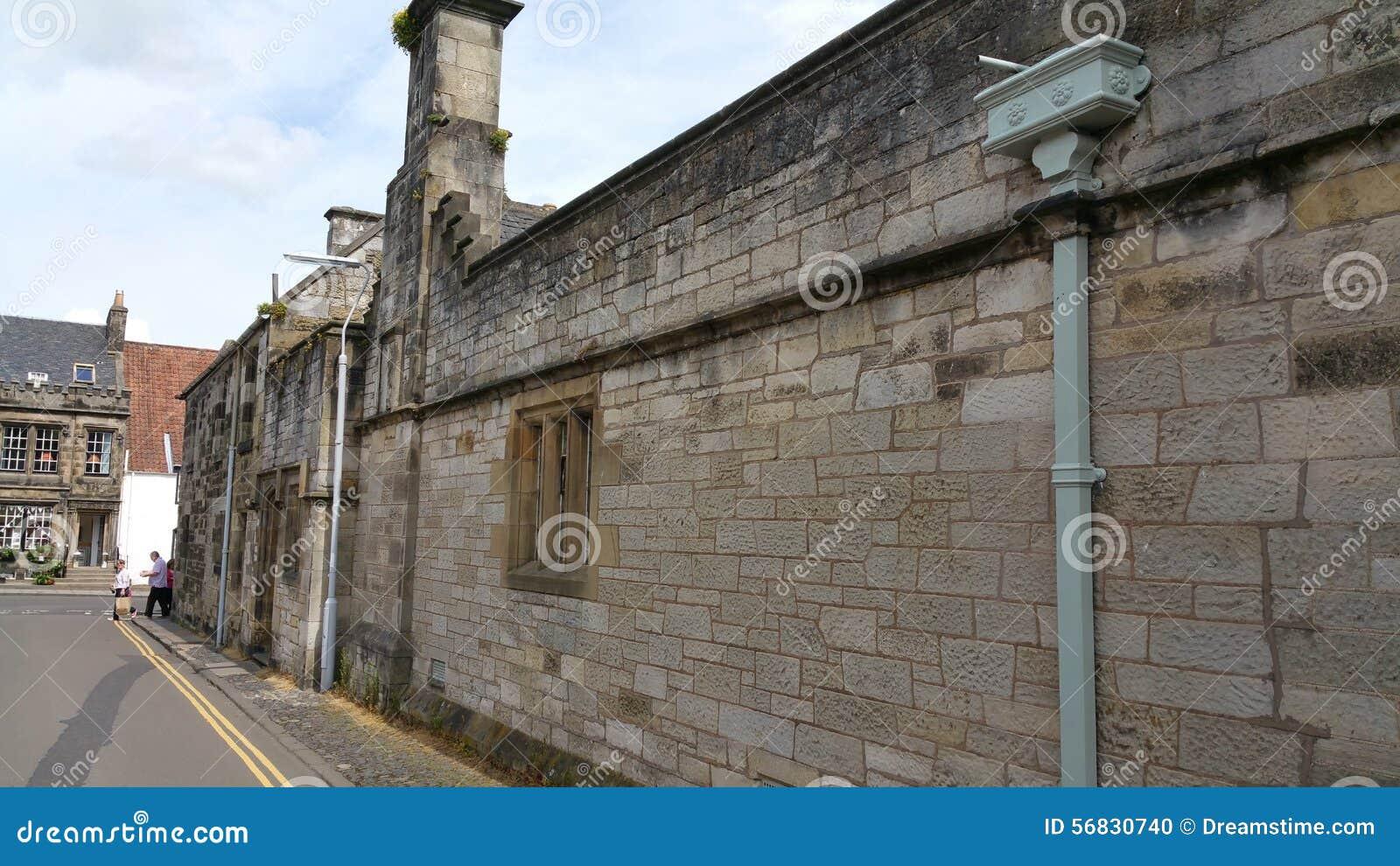 Het paleis Fife van de Falkland Eilanden