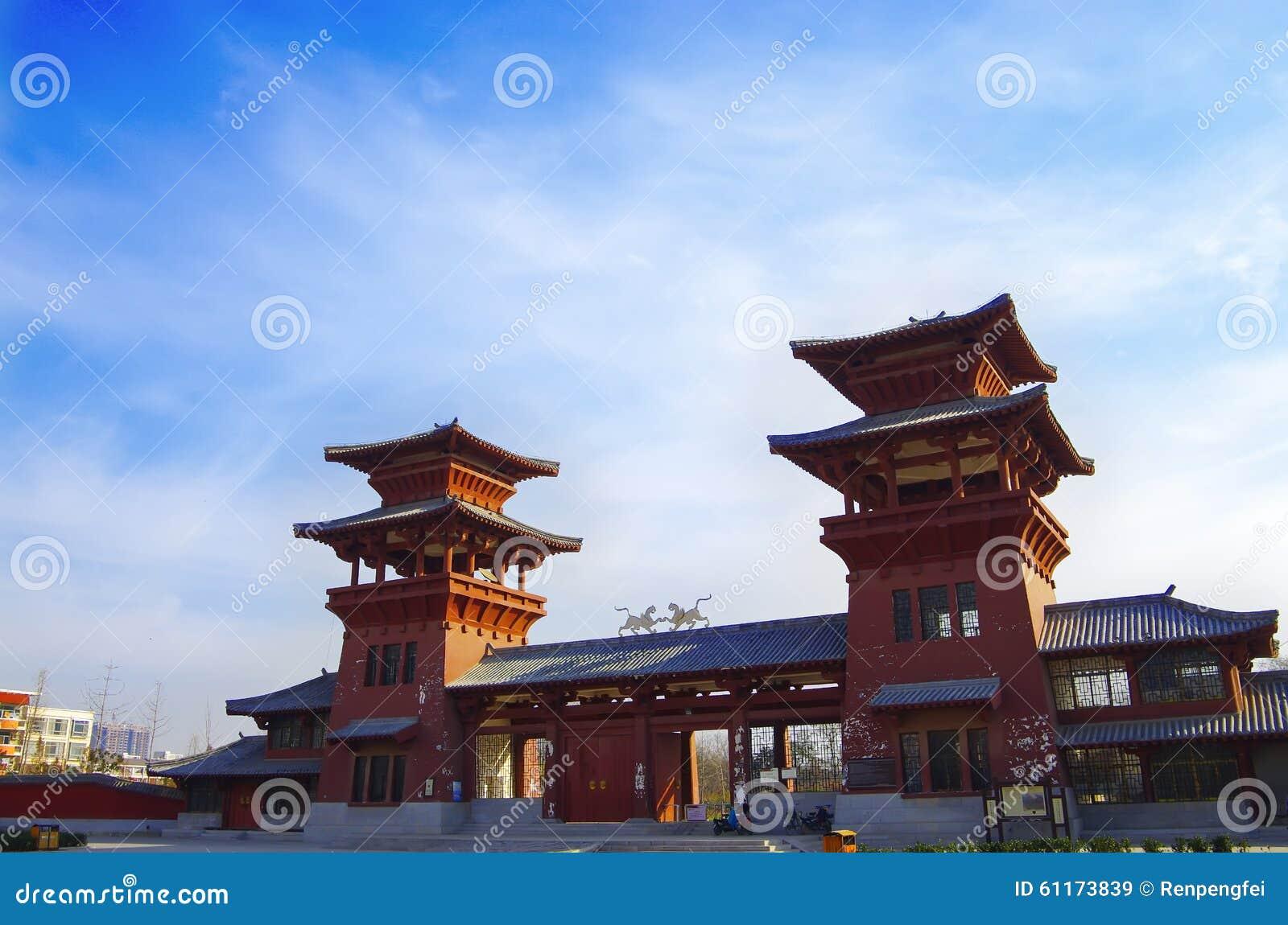 Het paleis van de qindynastie