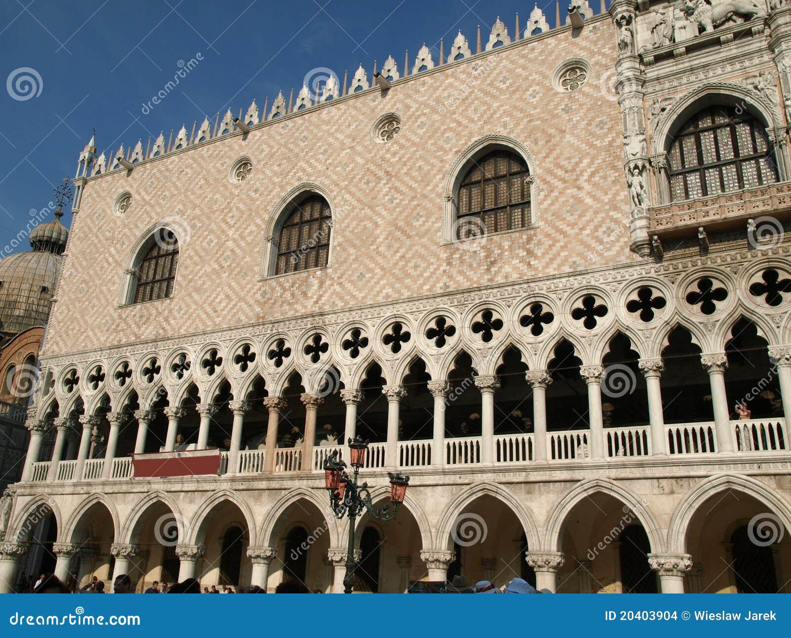Het paleis van Doges - Venetië,