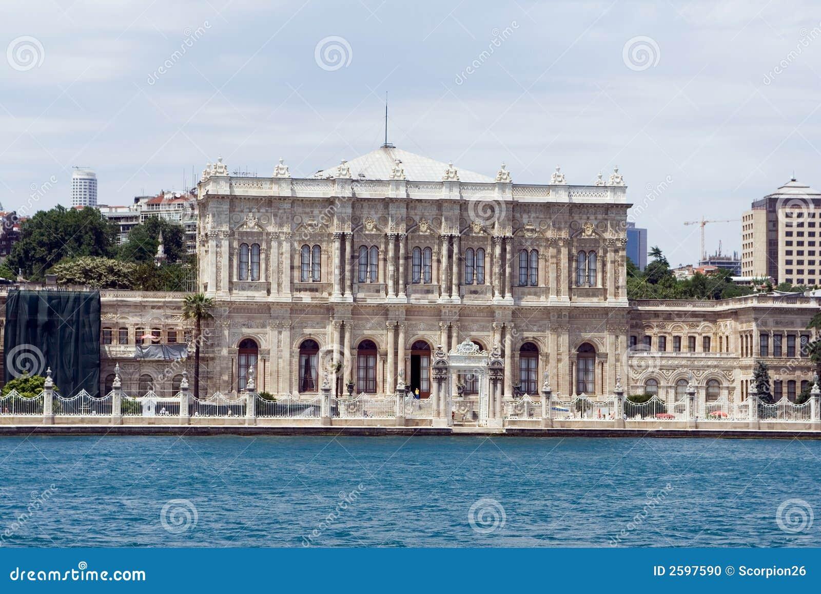 Het paleis van Dolmabahce
