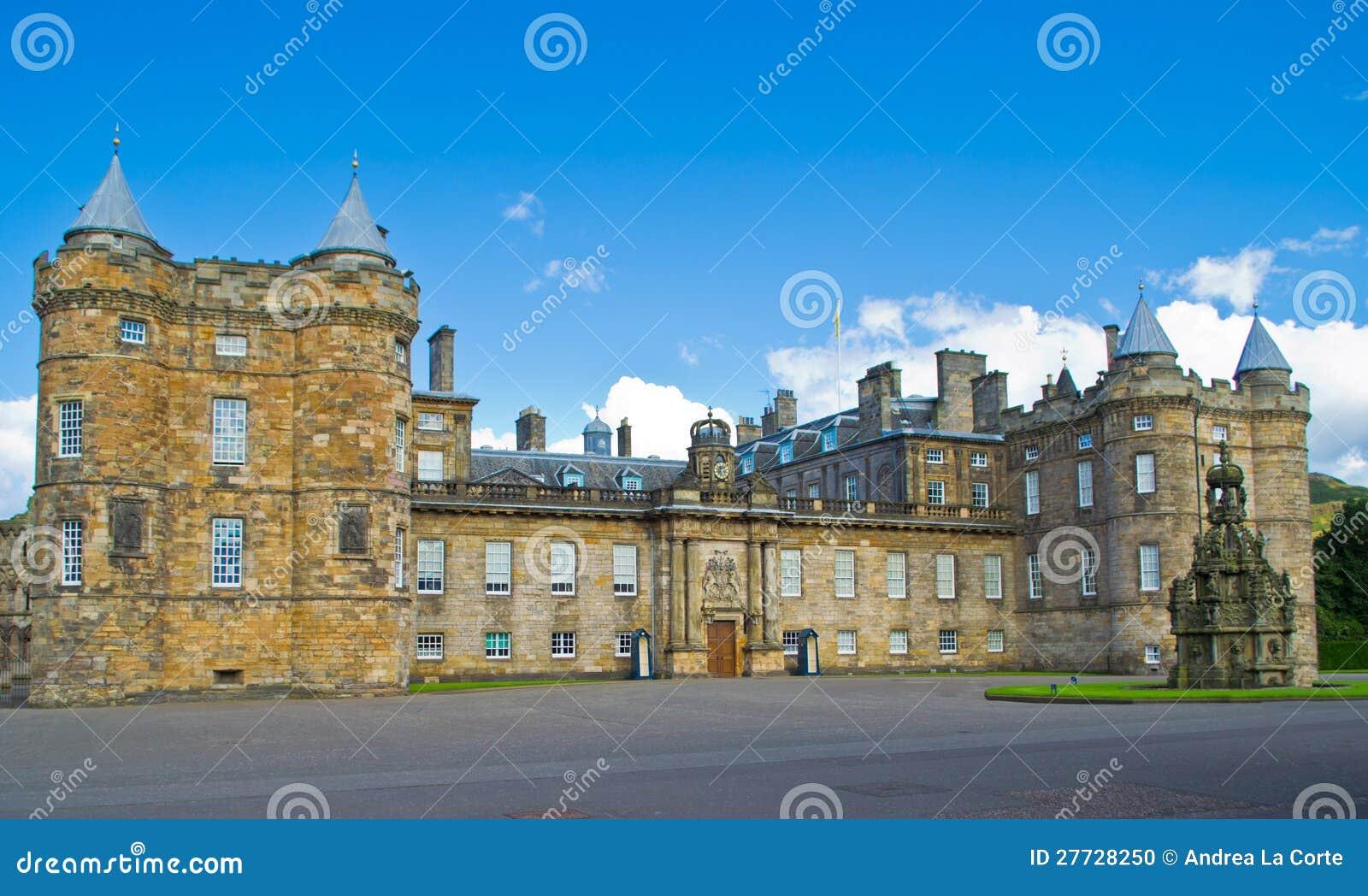 Het Paleis van Holyrood, Edinburgh, Schotland
