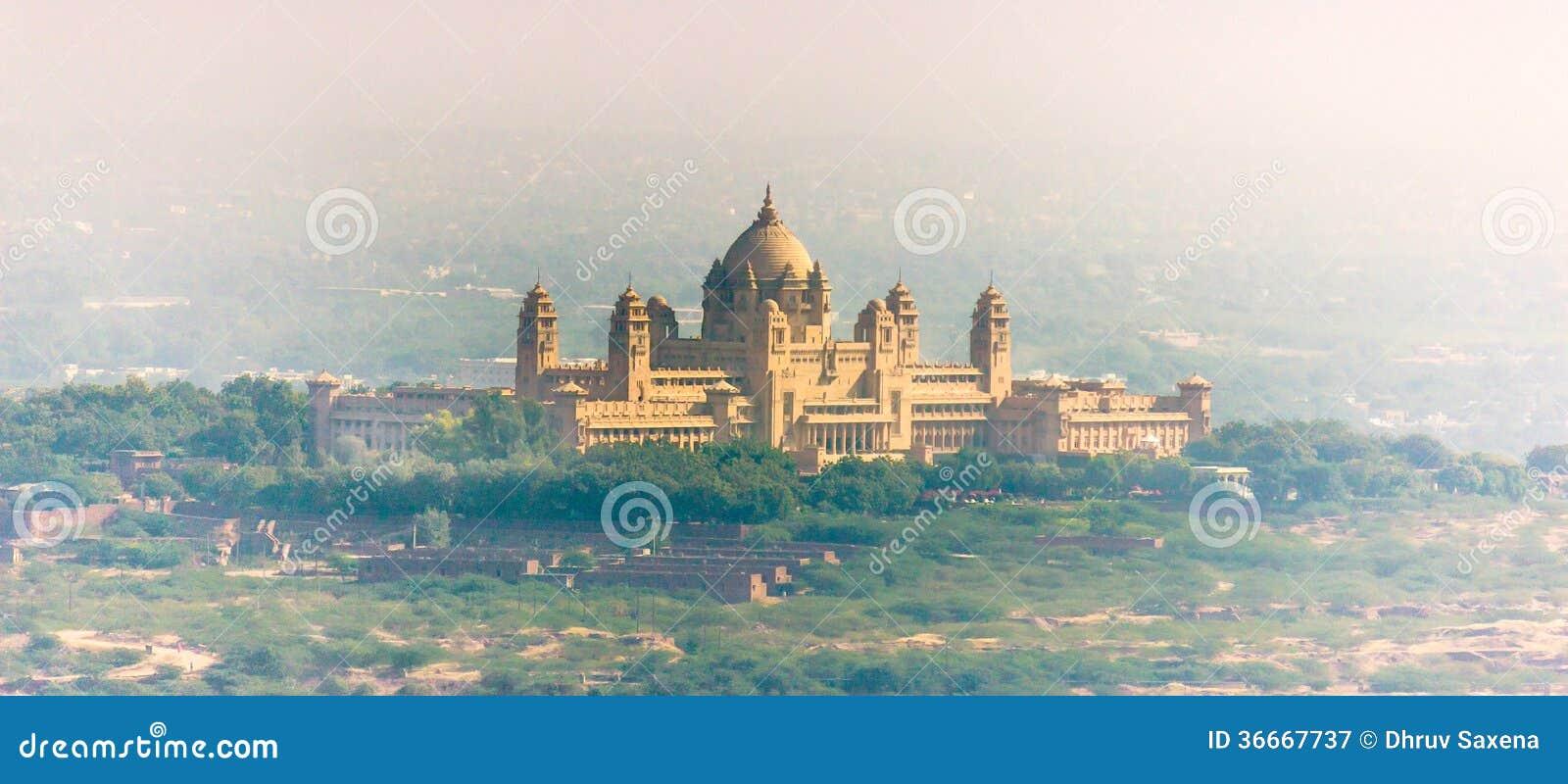 Het Paleis van Umaidbhawan, India