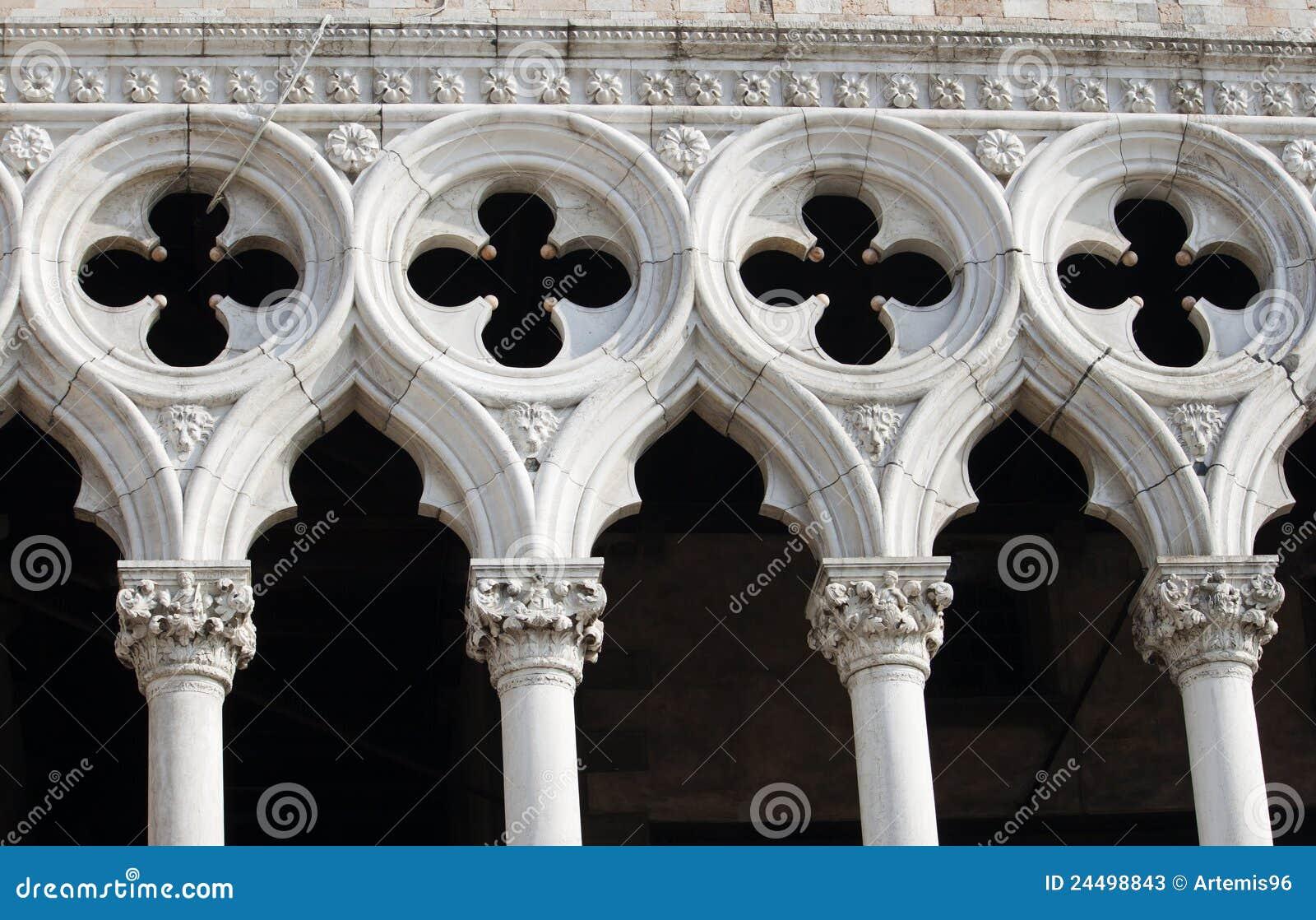 Het Paleis Venetië van doges