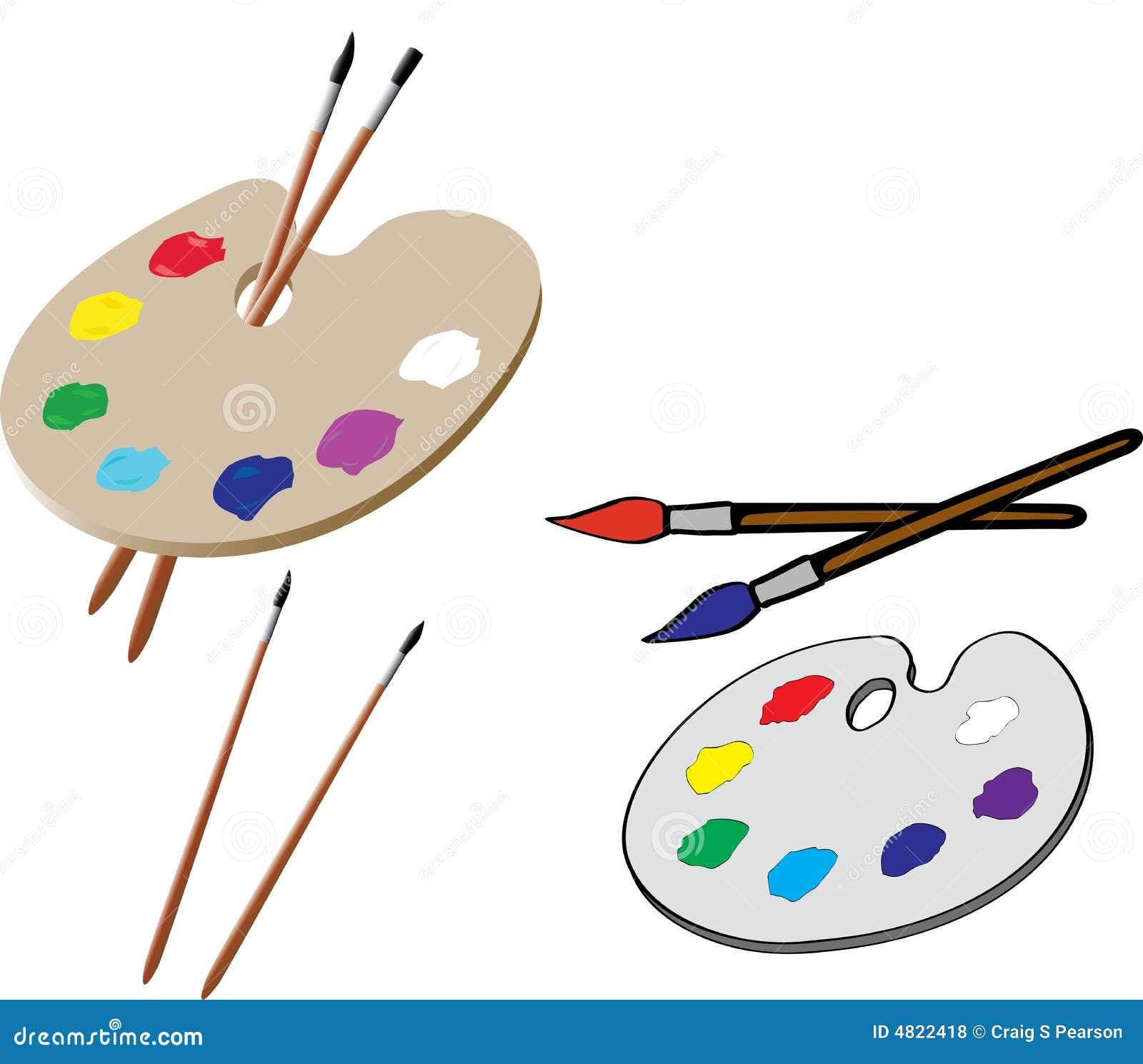 Het Palet van de kunstenaar