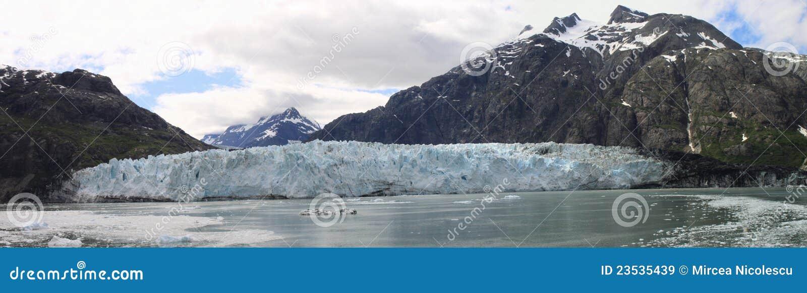 Het panorama van de Baai van de gletsjer
