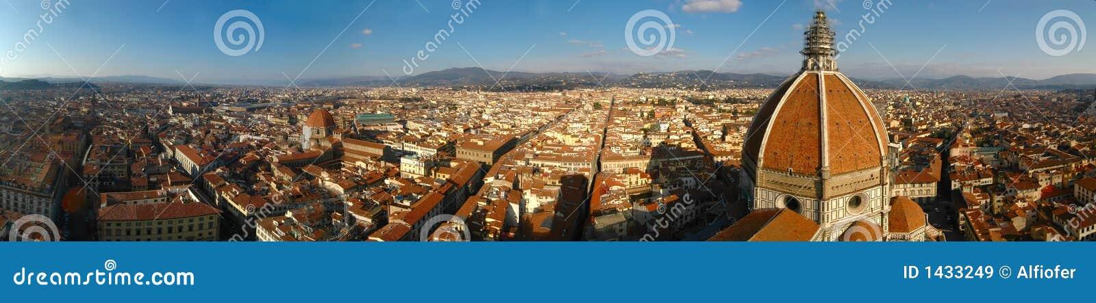 Het panorama van Florence (Italië)