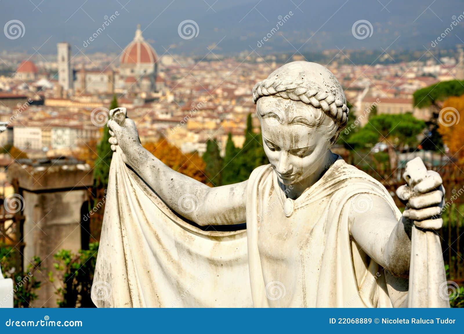 Het panorama van Florence, Italië