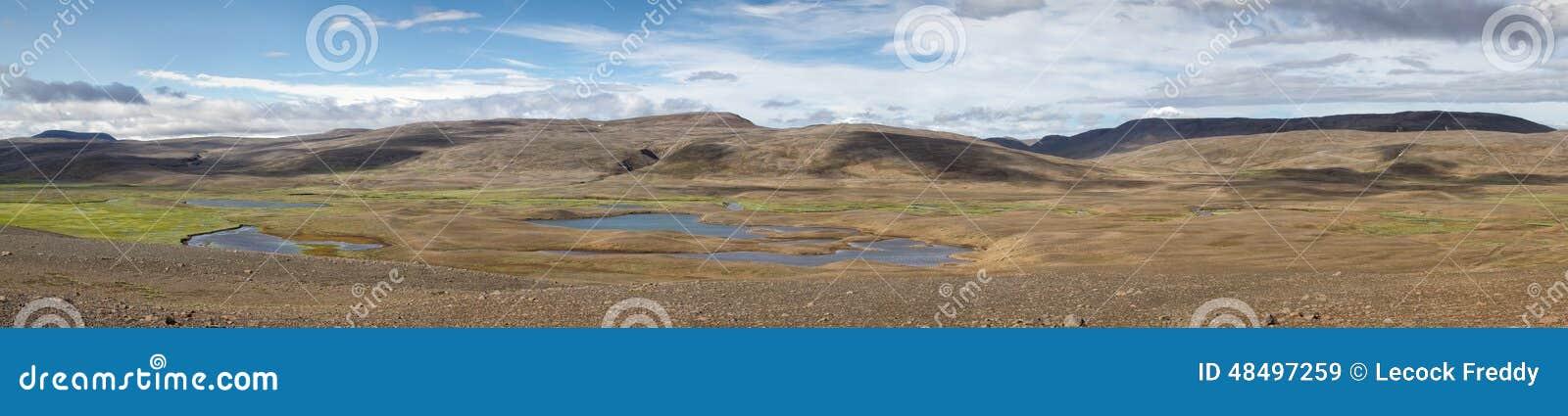 Het panorama van IJsland