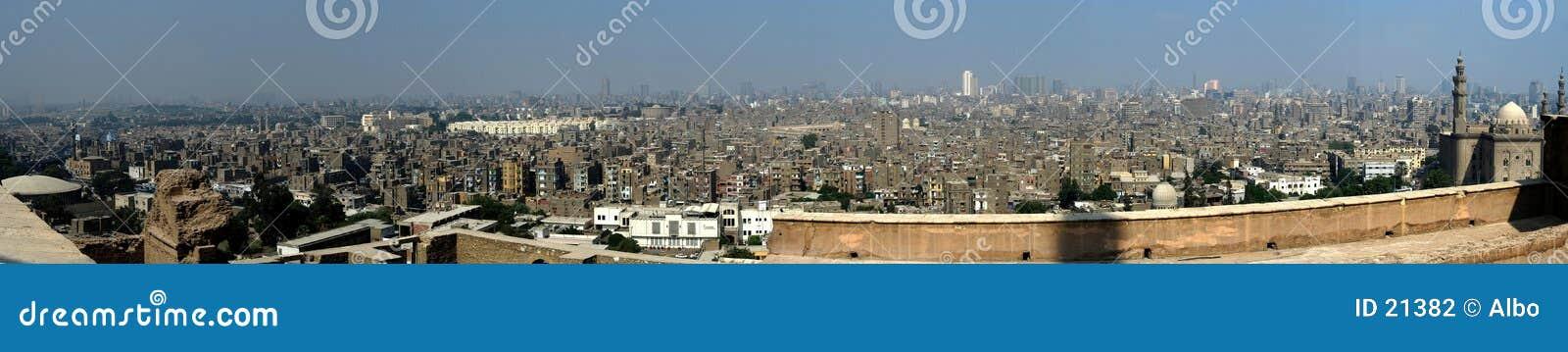 Het panorama van Kaïro