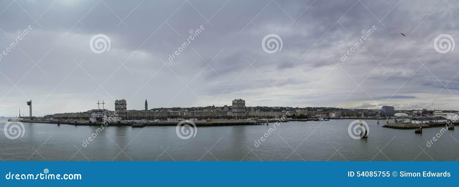 Het Panorama van Le Havre