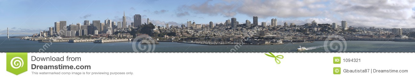 Het Panorama van San Francisco
