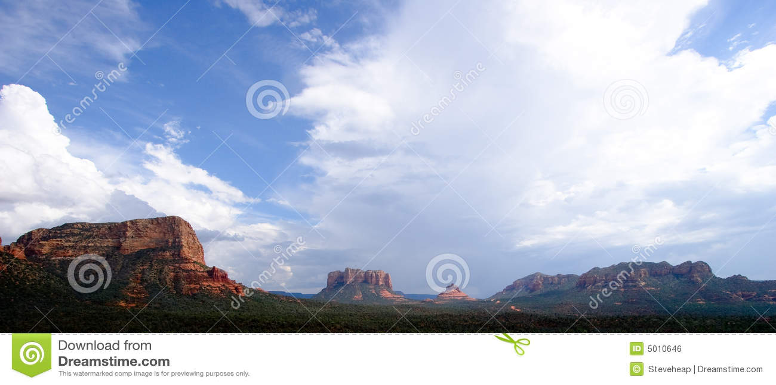 Het Panorama van Sedona