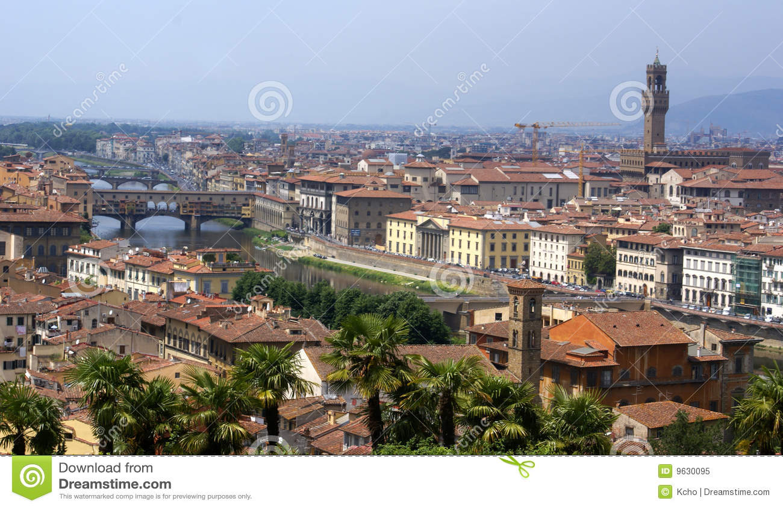 Het panoramamening van Florence