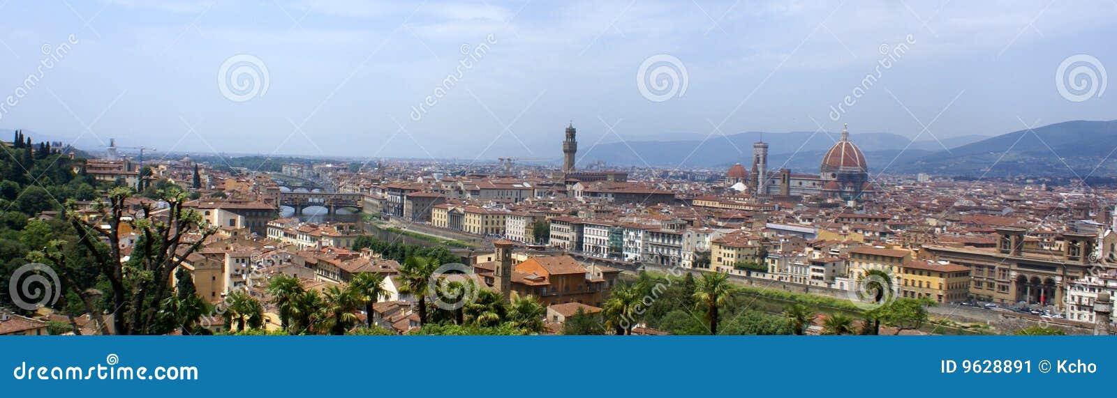 Het panoramamening van Florence - Italië