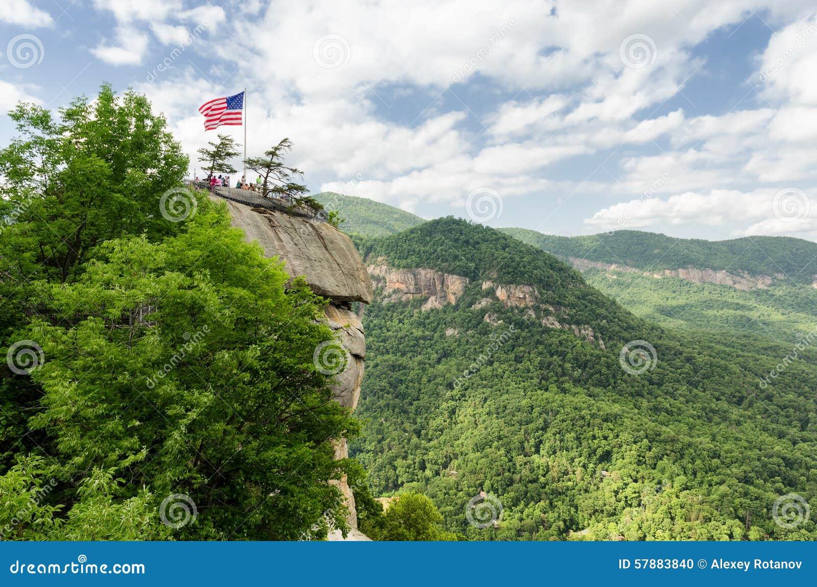 Het Park van de de bergstaat van de schoorsteenrots