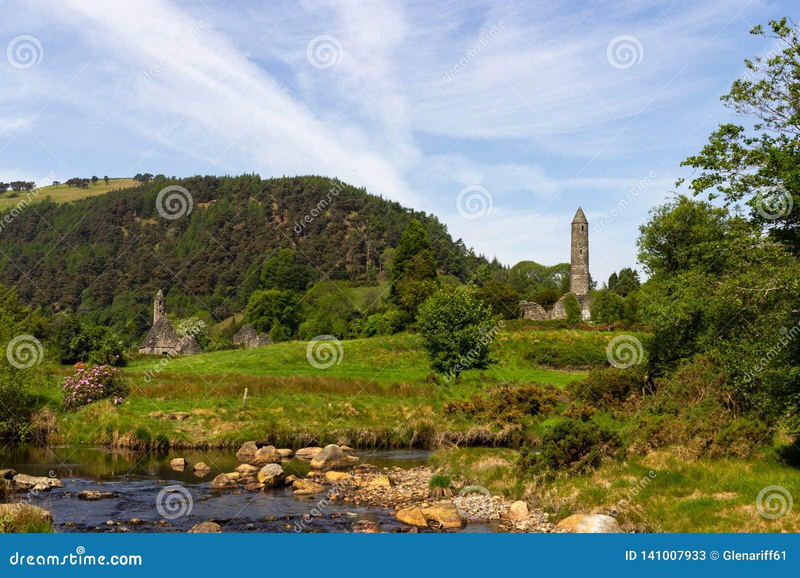 Het Park van de Glendaloughaard Ierland