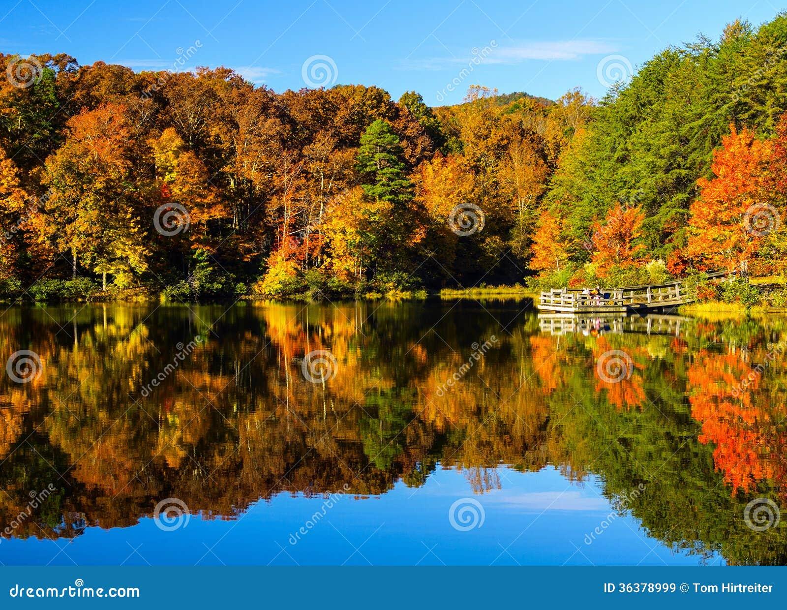 Het Park van de Staat van de Crowdersberg - Noord-Carolina