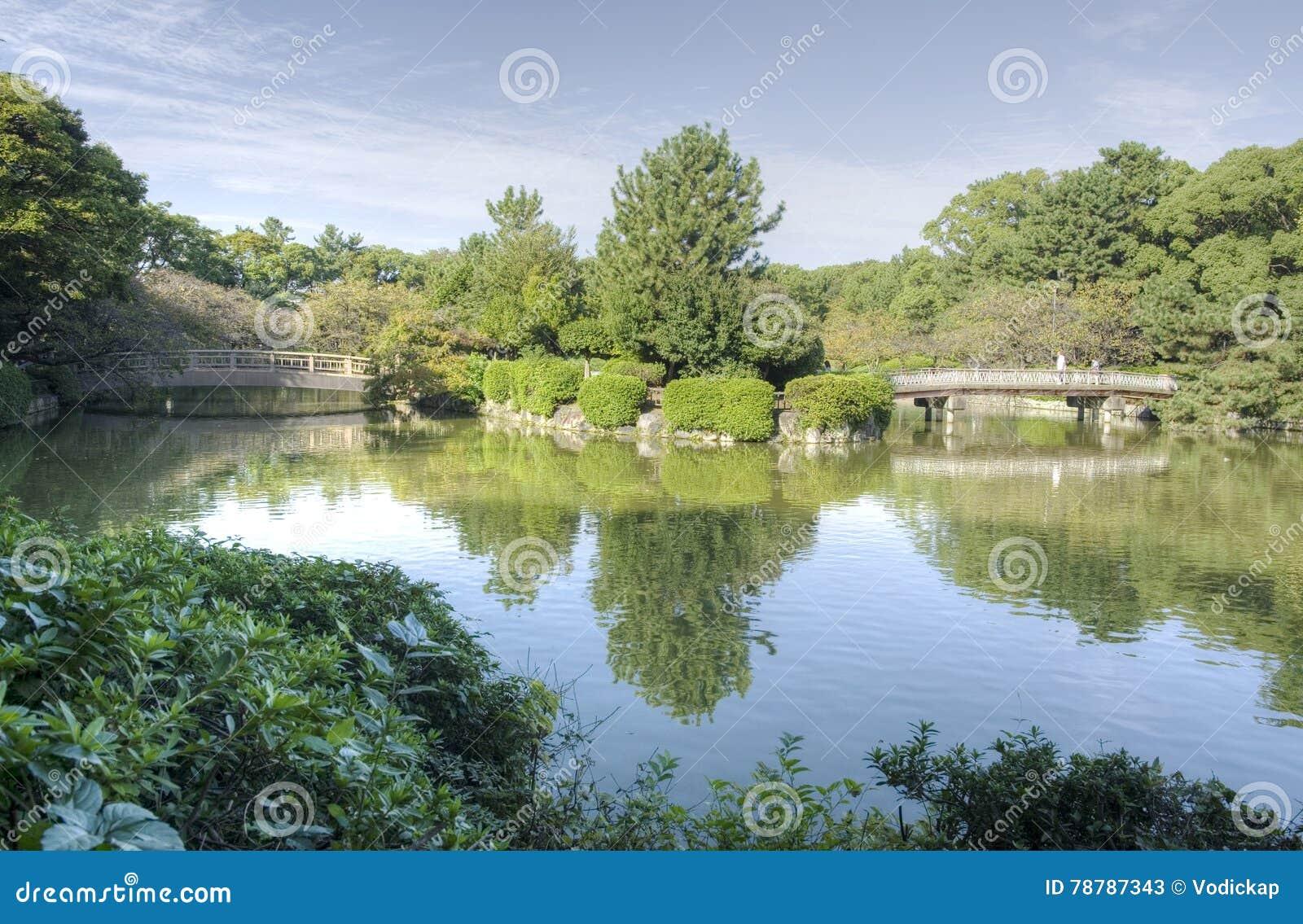 Het park van Nagoya - Meijo-, Japan