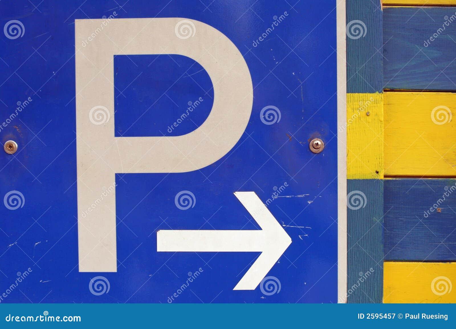 Het parkeren teken
