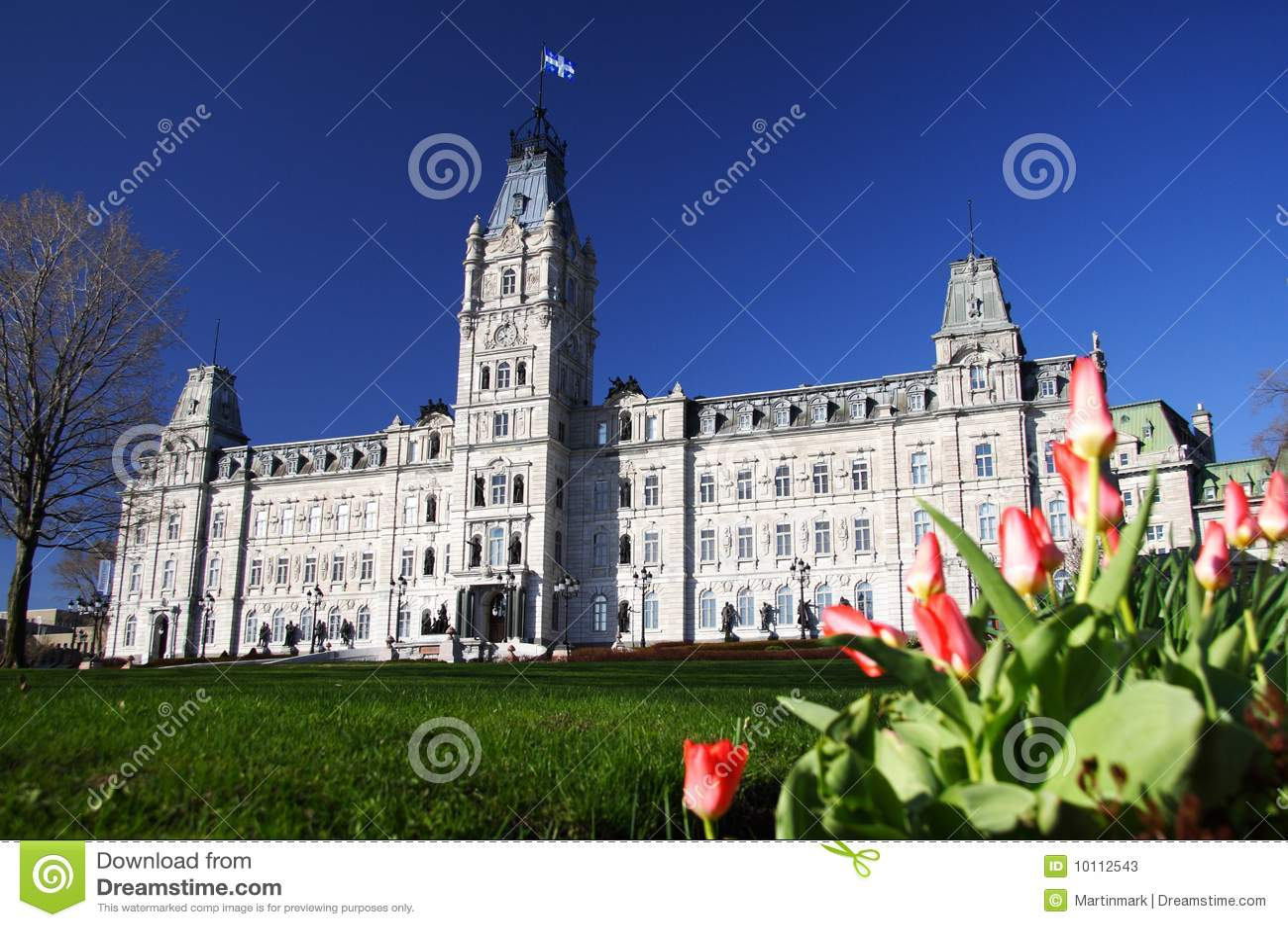 Het Parlement van de Stad van Quebec