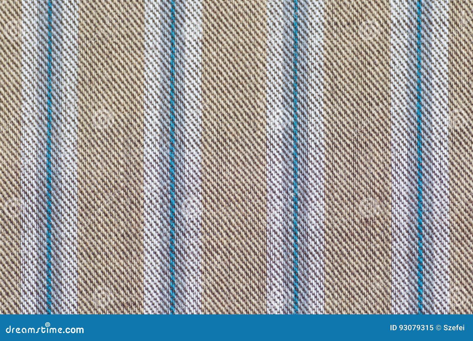 Het patroon dichte omhooggaand van de strepenstof