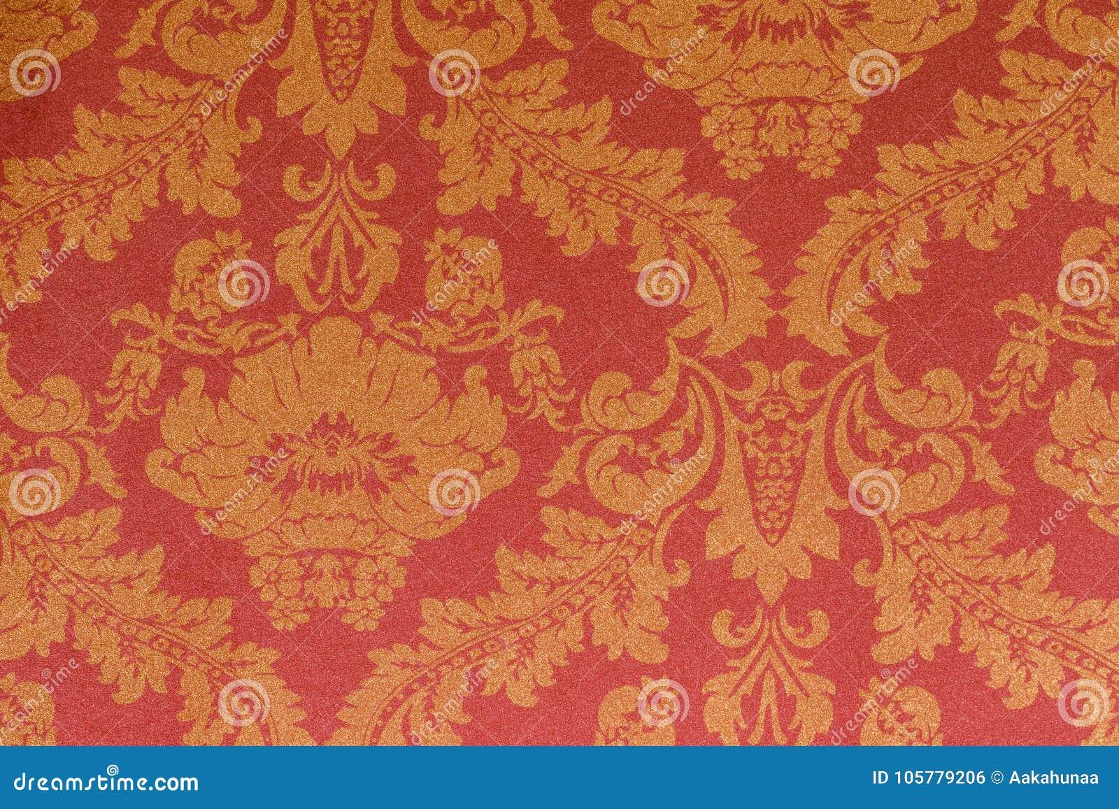 Behang Met Patroon : Het patroon van het behang stock foto. afbeelding bestaande uit